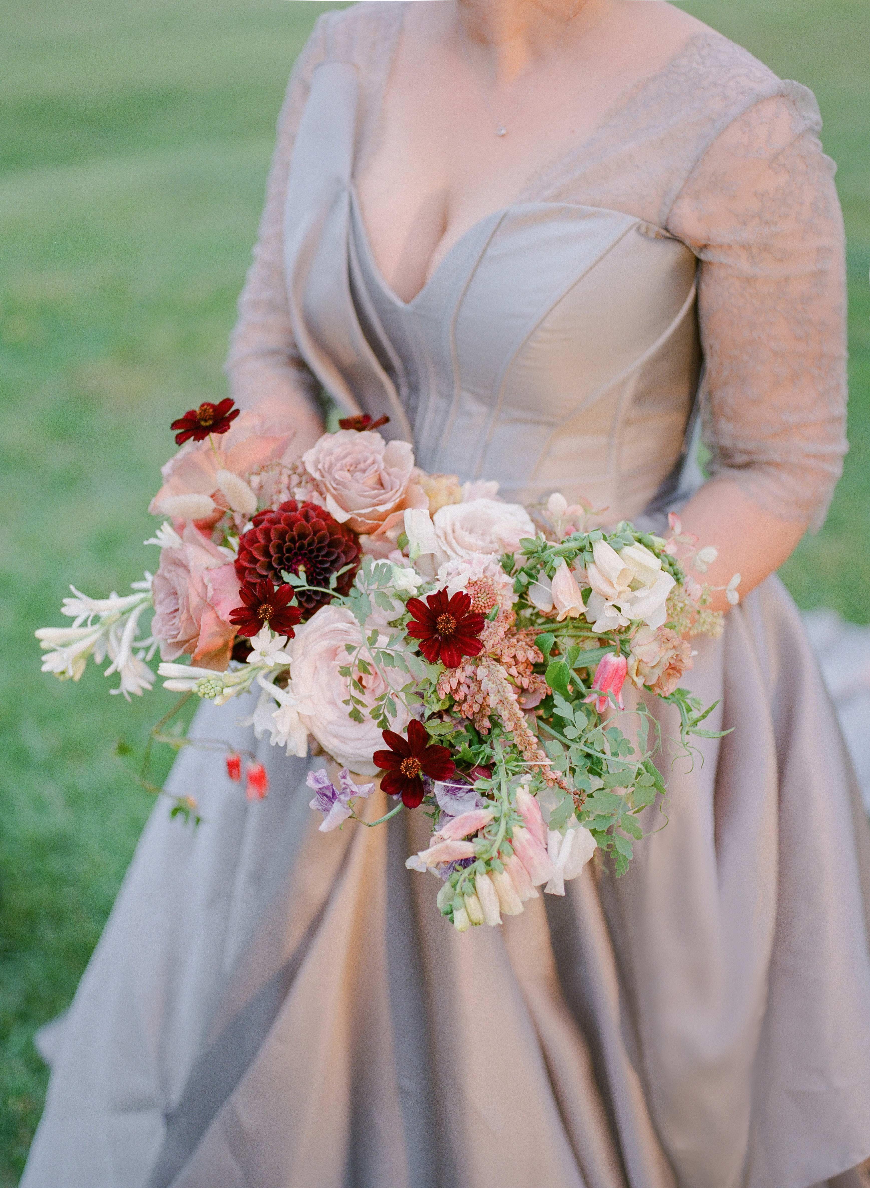 ashley samantha wedding cornwall ny bouquet