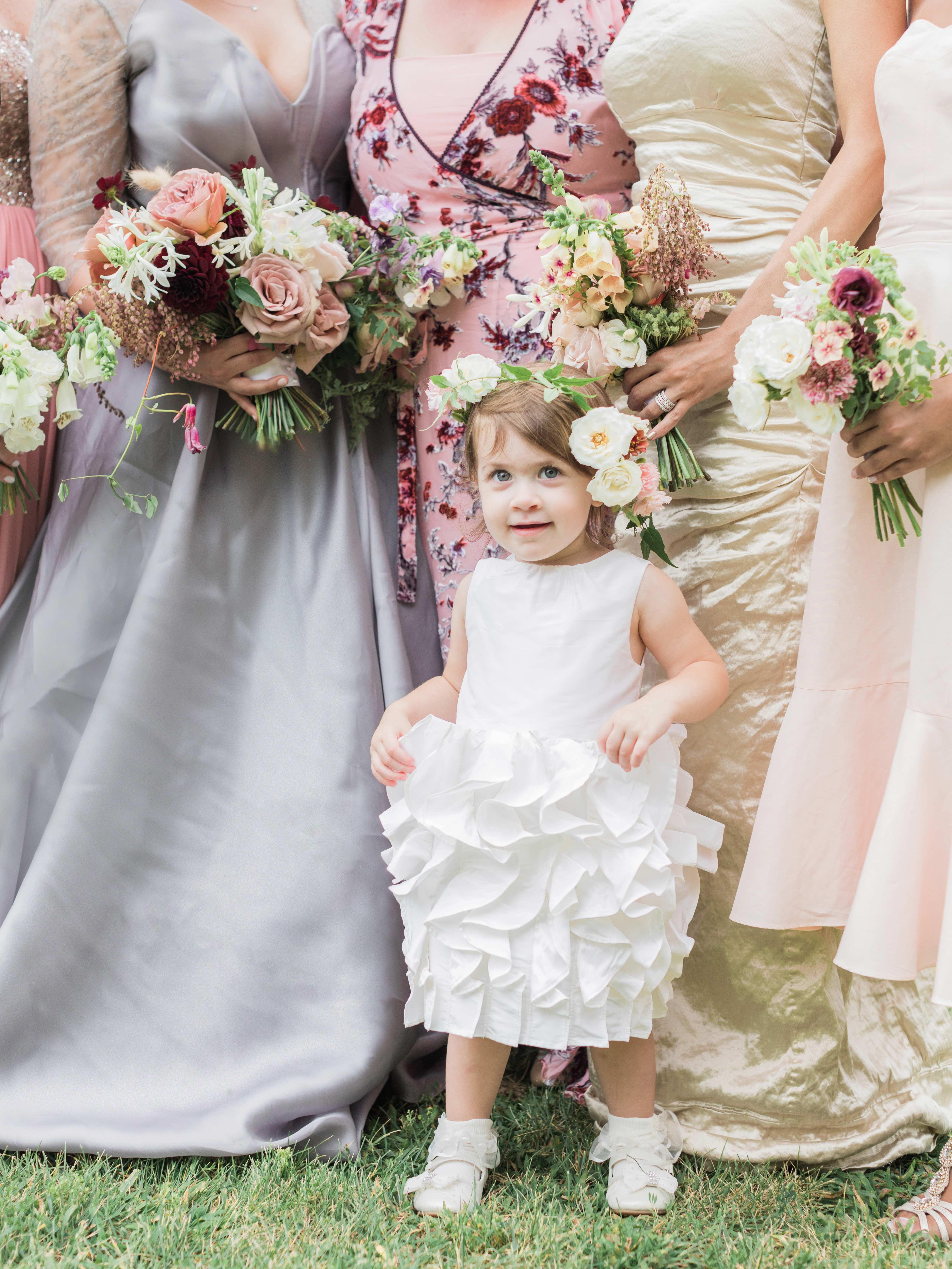 ashley samantha wedding cornwall ny flower girl