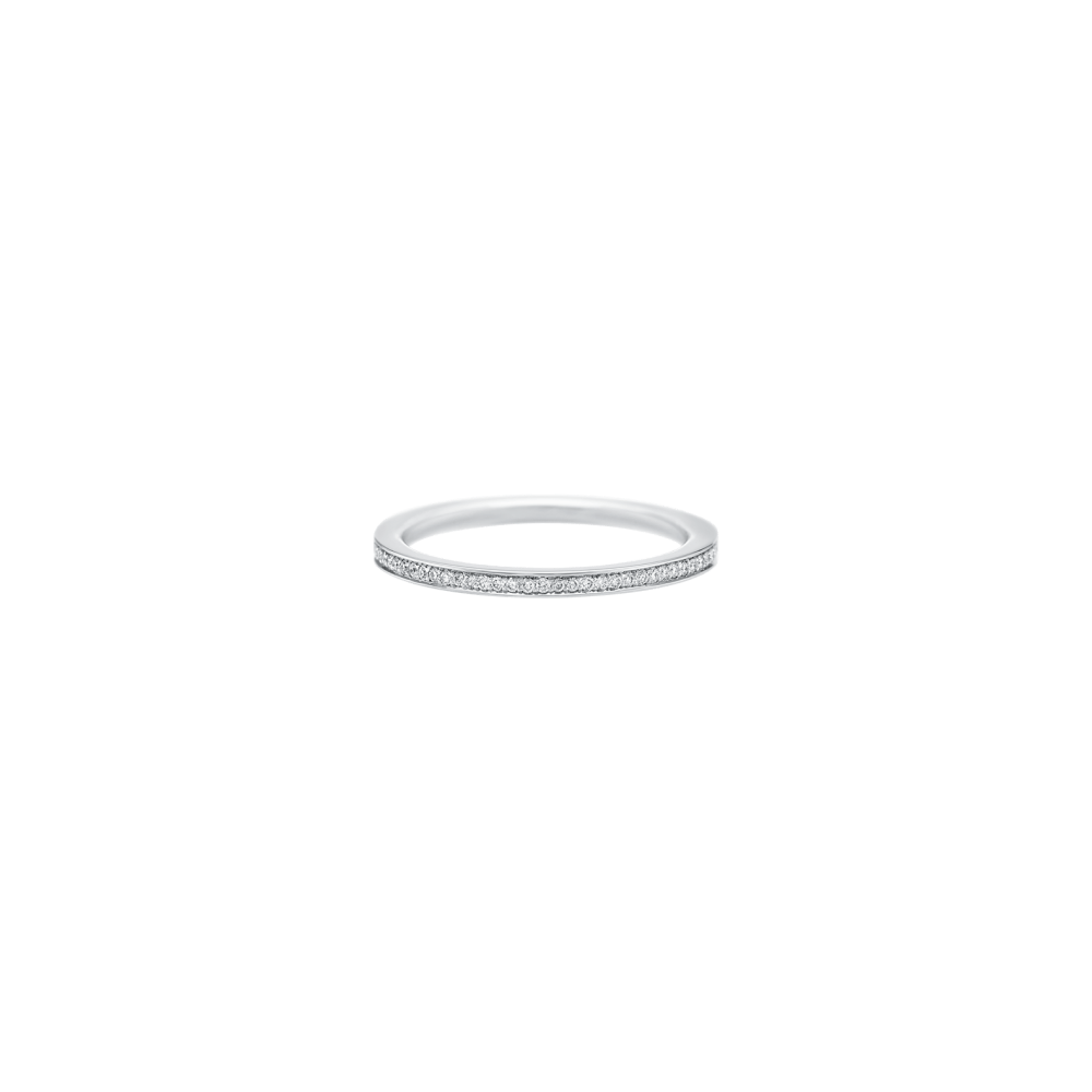 "Delicate Wedding Band, Harry Winston ""Belle"" Diamond Wedding Band"