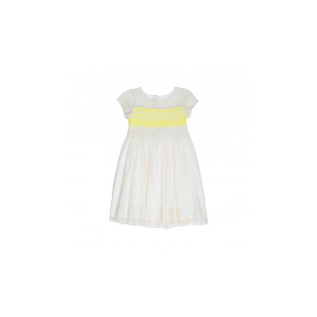 "Short Sleeve Flower Girl Dress, Bonpoint ""Duchesse"" Dress"