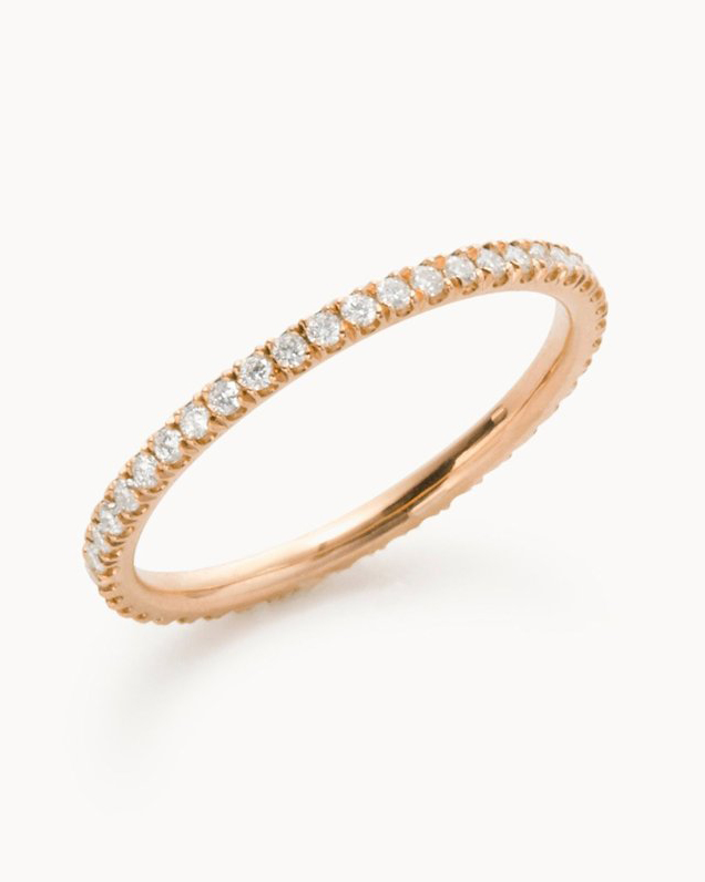 "Vrai & Oro ""The Infinity"" Ring"