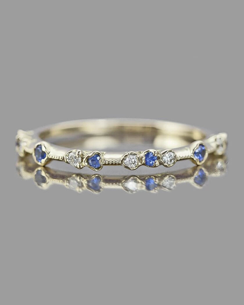 d17c06694e3 The Prettiest Delicate Wedding Bands for Modern Brides | Martha ...