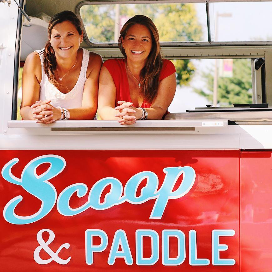 scoop and paddle bus