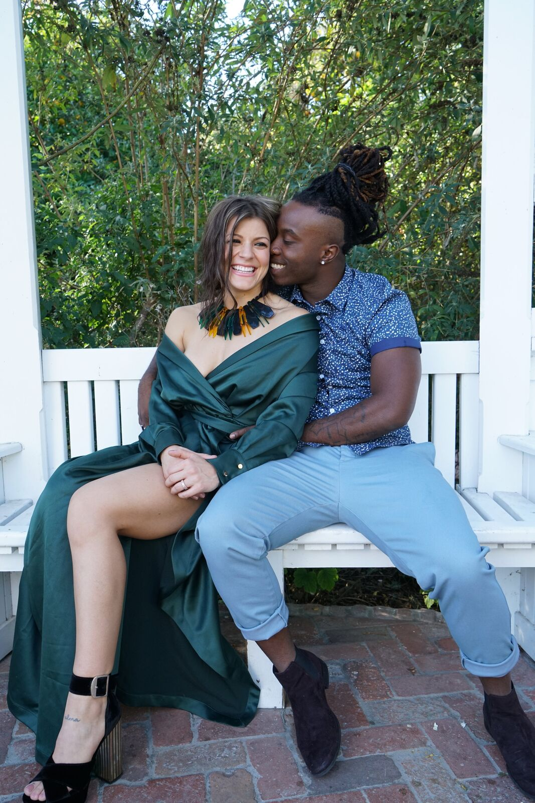 """Janelle Ginestra and Will """"Willdabeast"""" Adams Engagement"""