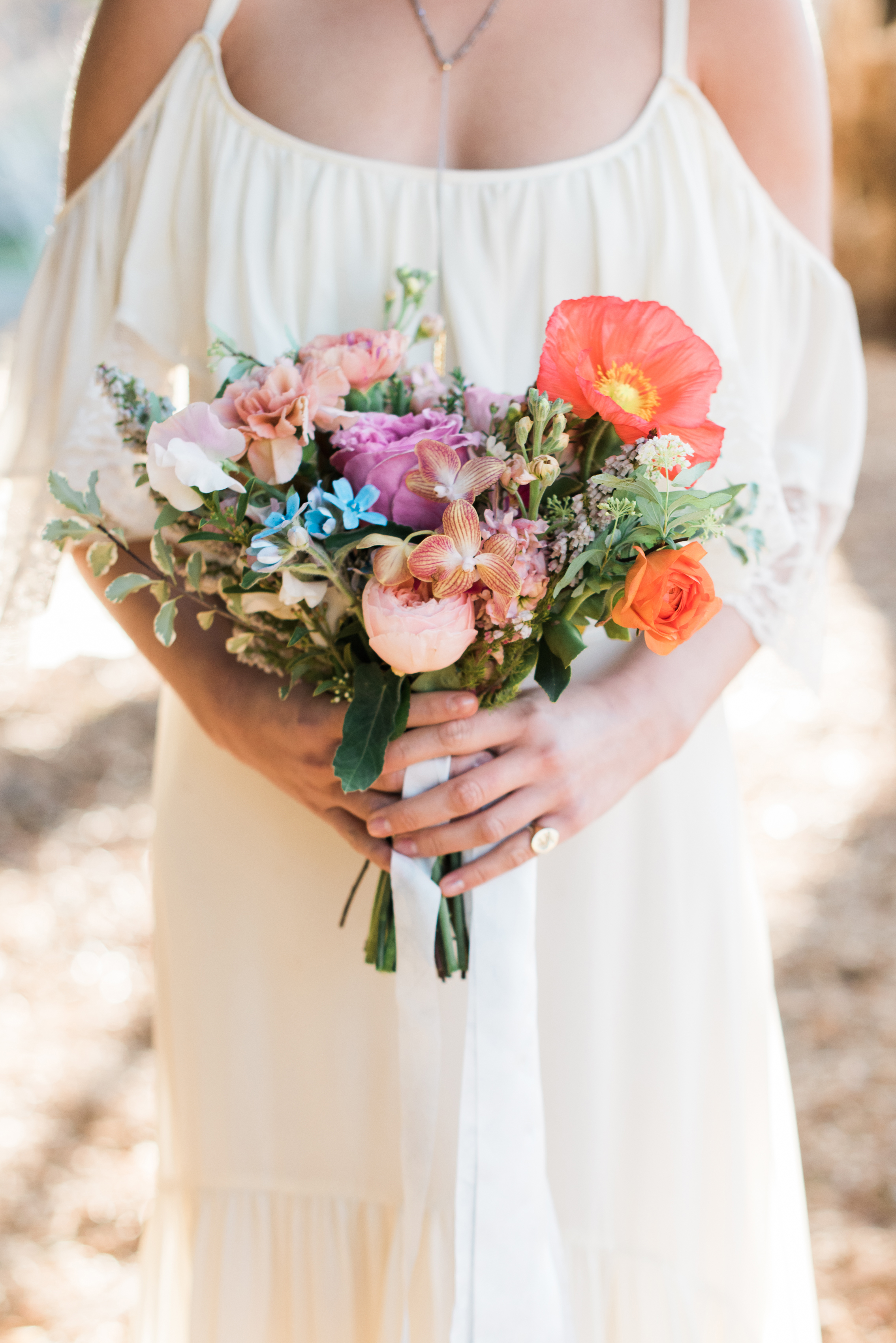 poppy bouquets lise anderson