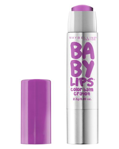 """Maybelline New York """"Baby Lips Color"""" Balm Crayon in """"Playful Purple"""""""