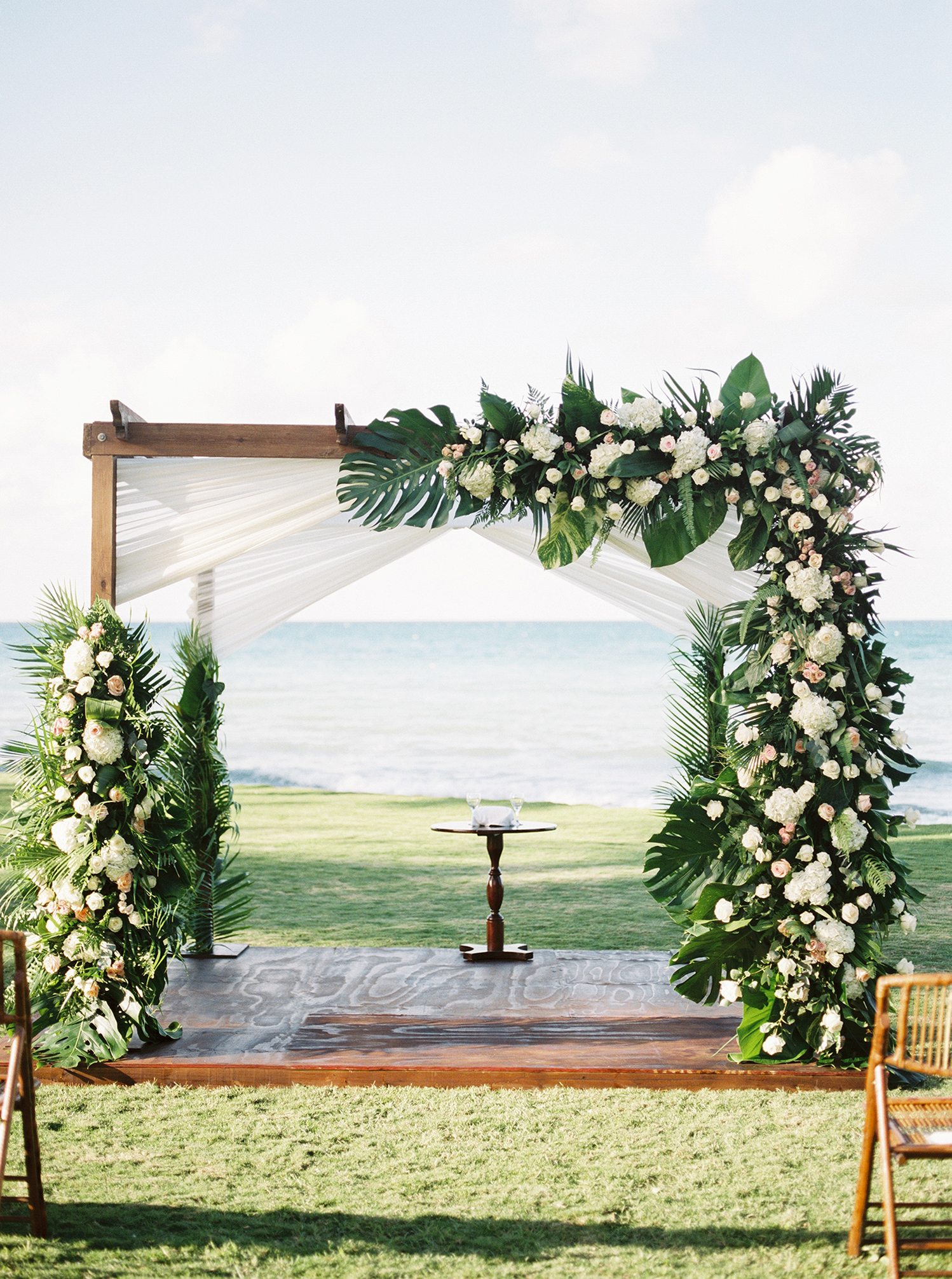 abbey jeffrey wedding ceremony site with chuppah