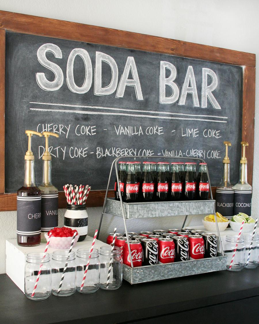 hydration stations non alcoholic soda bar