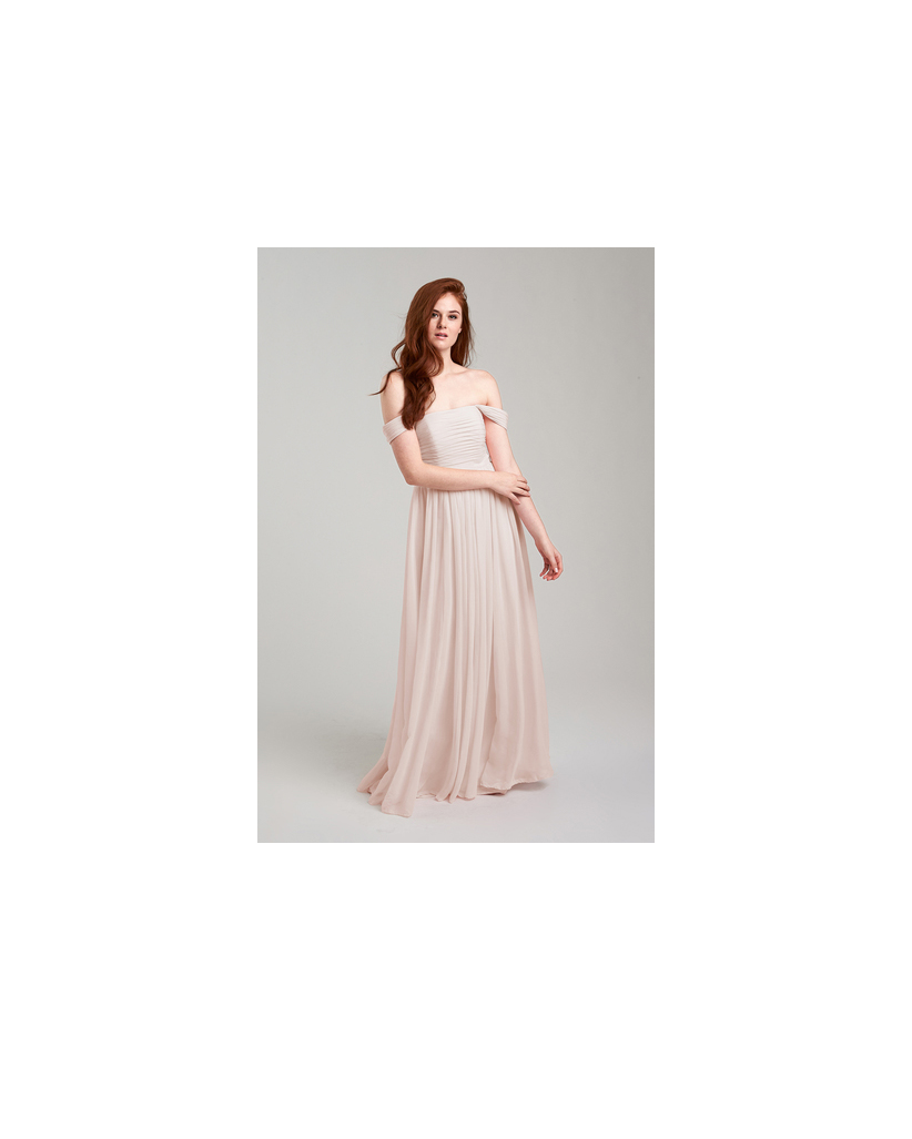 beige neutral bridesmaid dresses weddington way riley