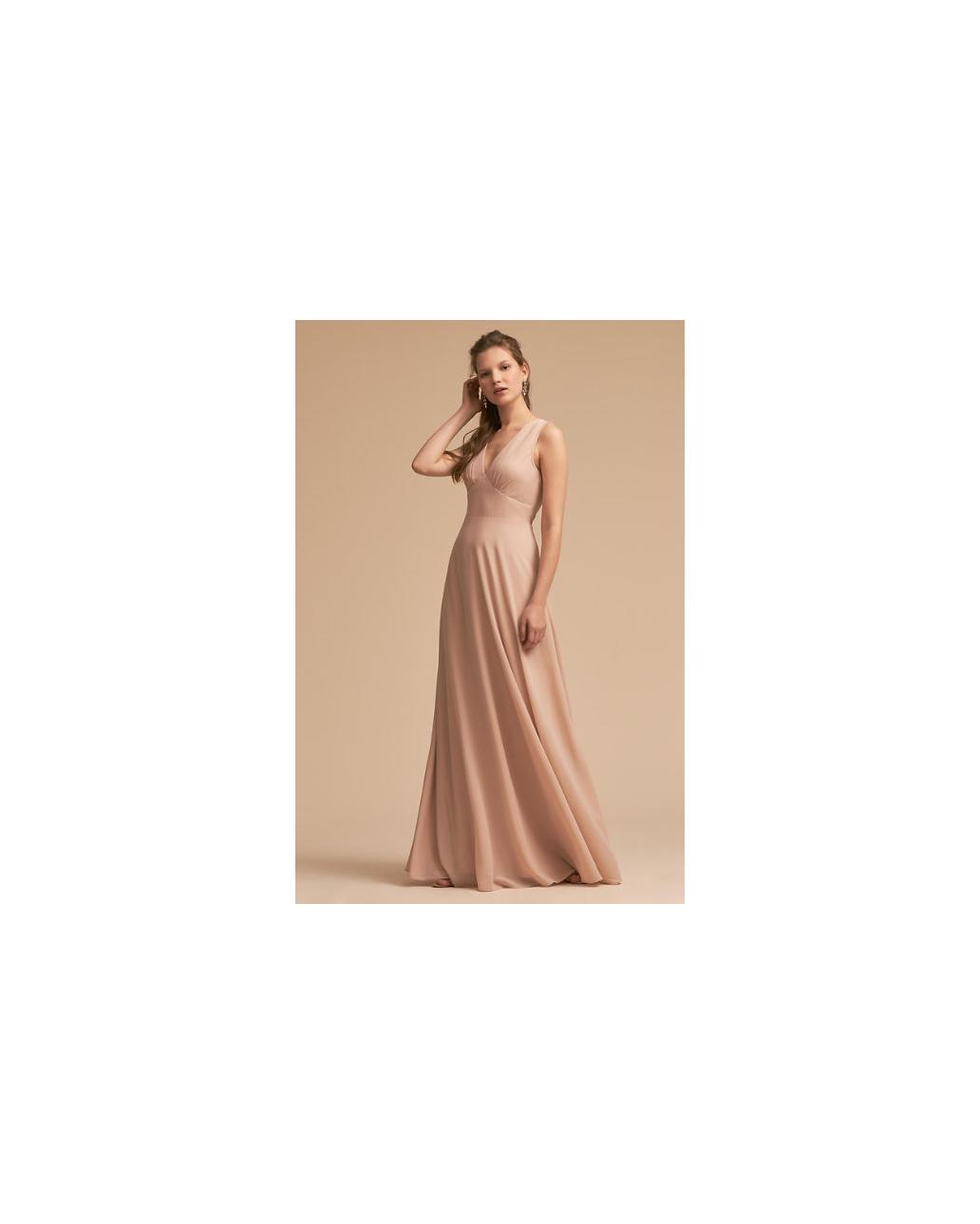 beige neutral bridesmaid dresses bhldn capulet