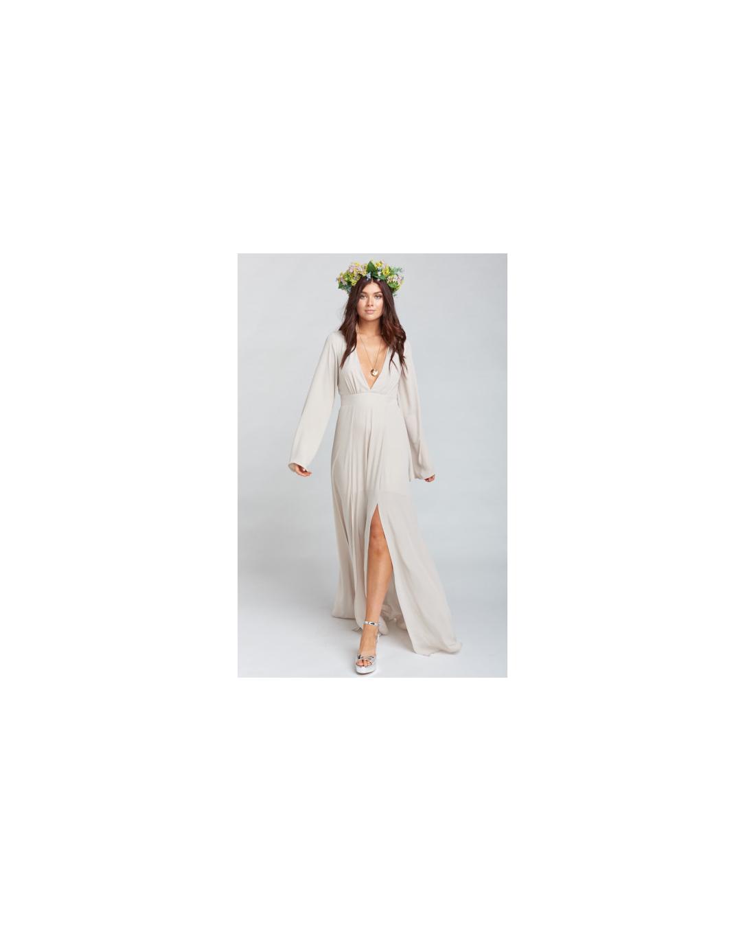 beige neutral bridesmaid dresses show me your mumu venus
