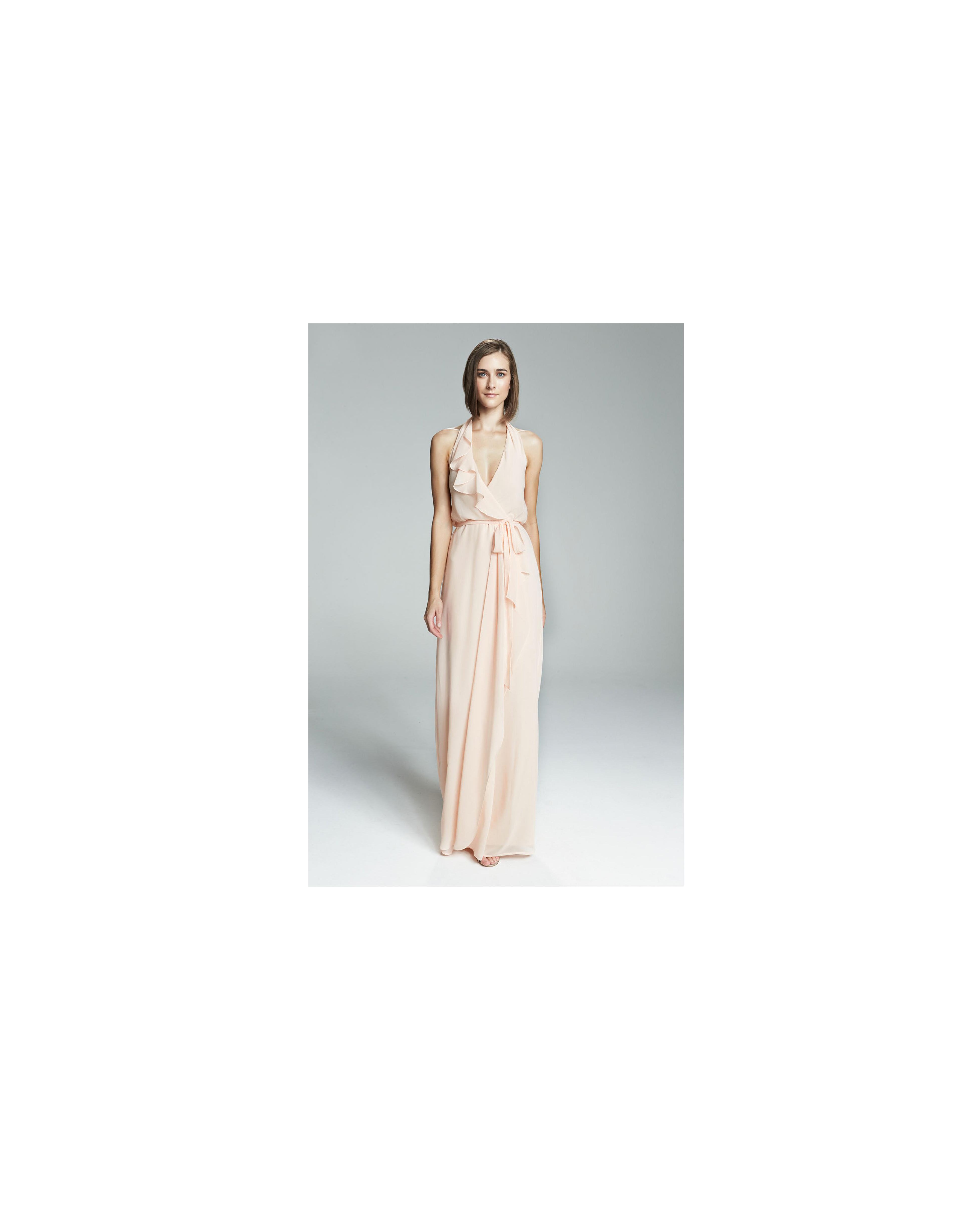 beige neutral bridesmaid dresses amsale erica