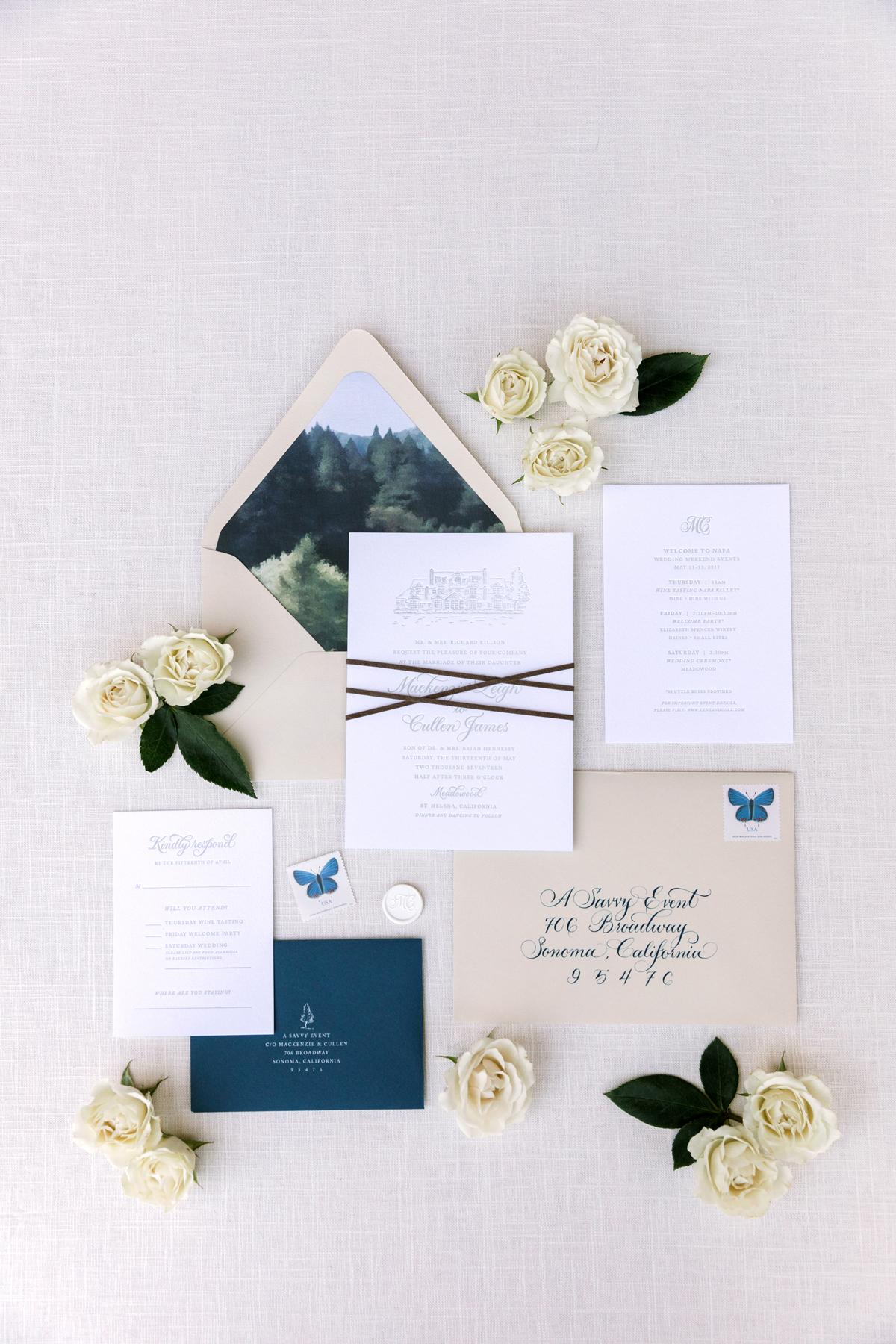envelope invites the edges