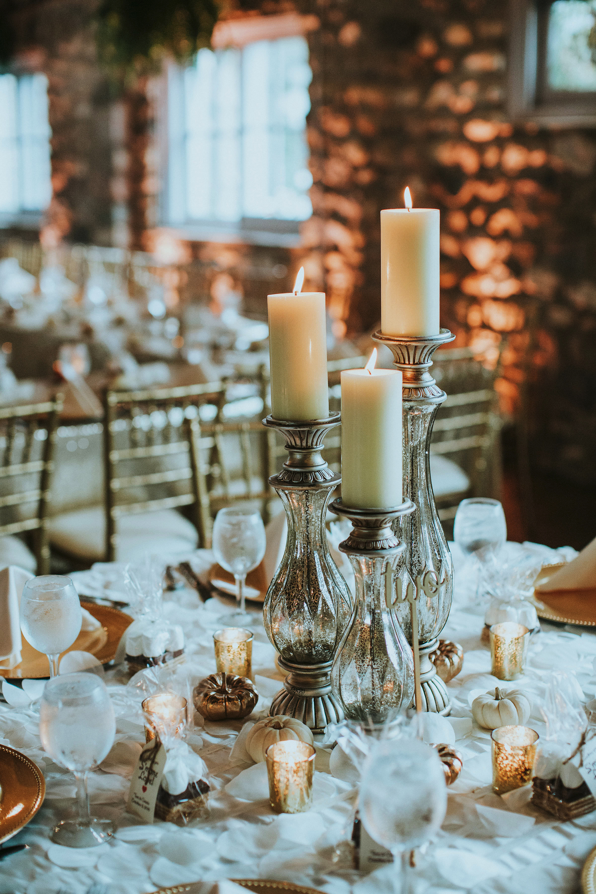 Elegant Ways To Decorate Your Wedding With Mercury Glass Martha