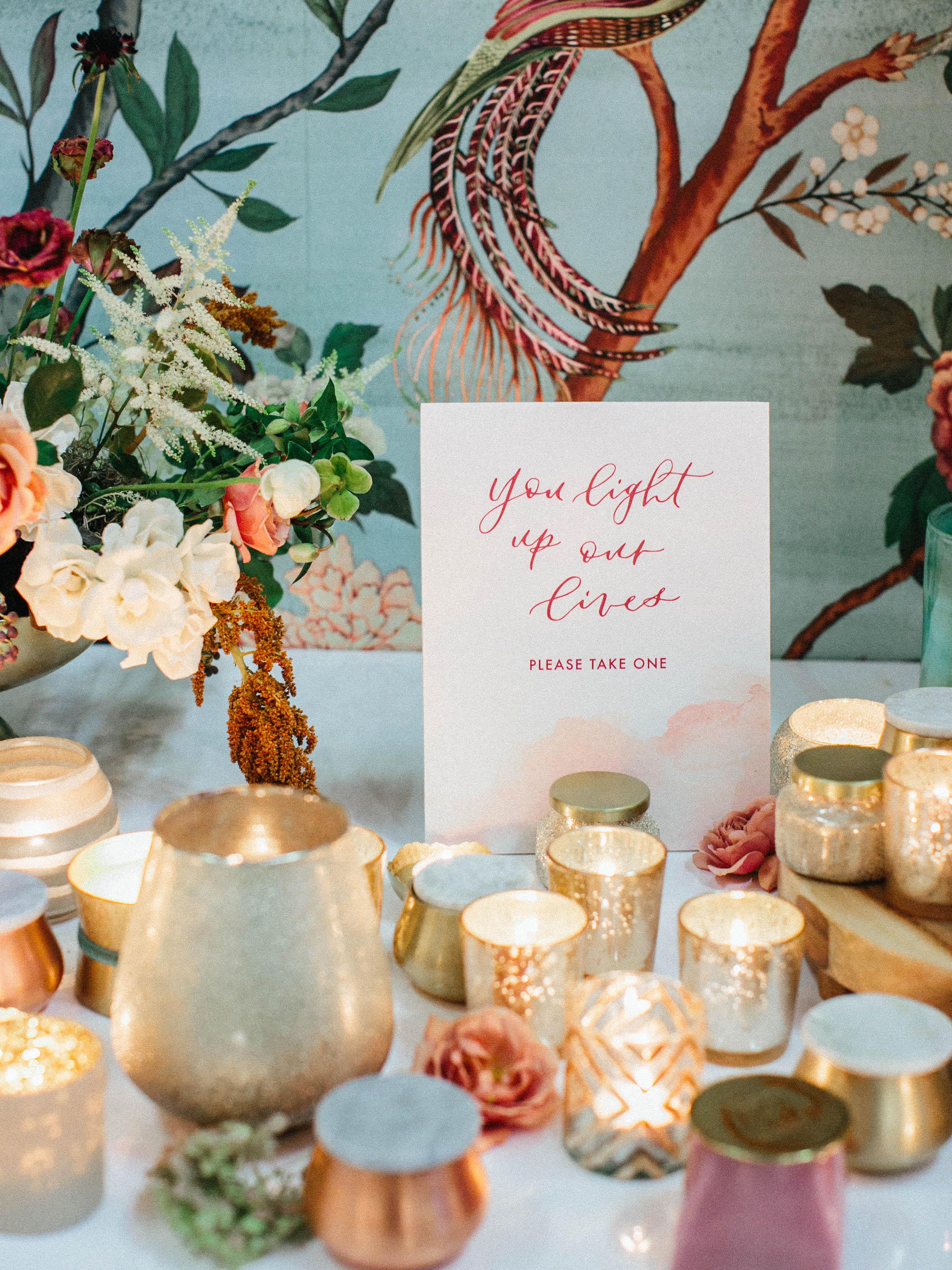mercury glass wedding ideas luna de mare