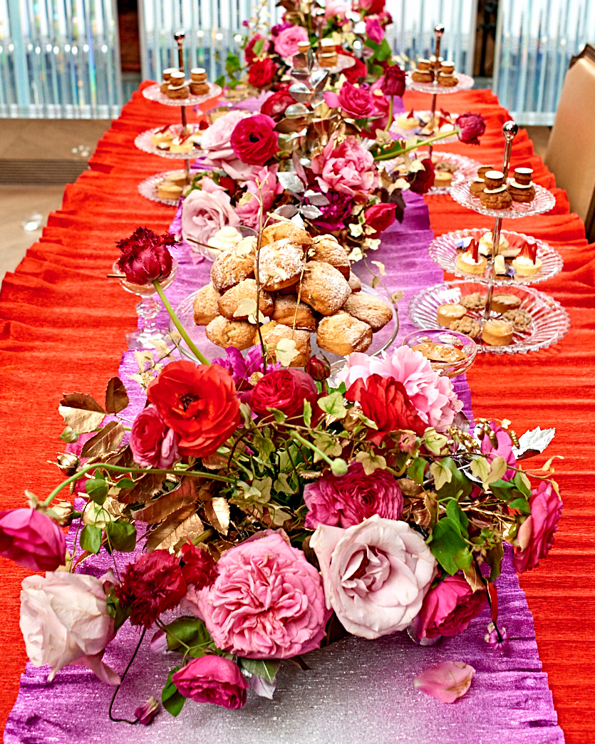 colleen jewel bridal shower flowers