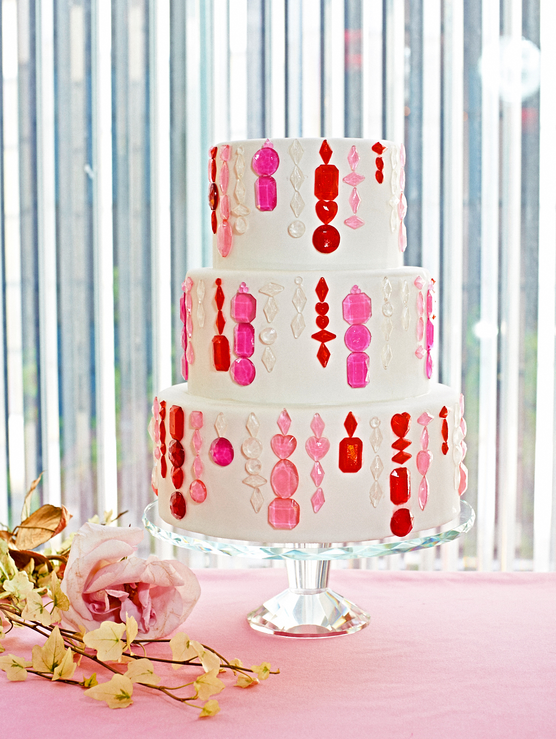 colleen jewel bridal shower cake