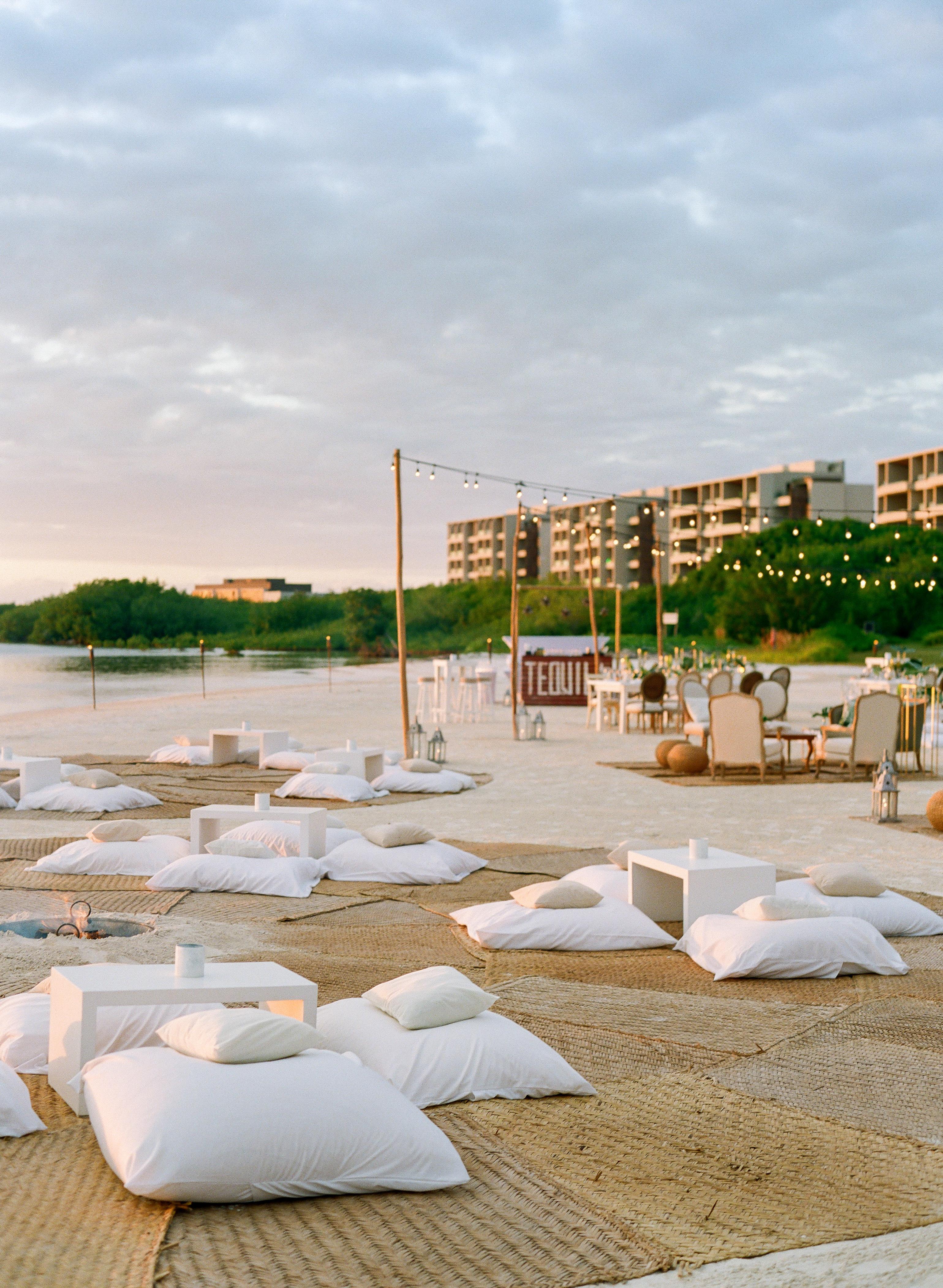 vicky james mexico beach lounge pillows