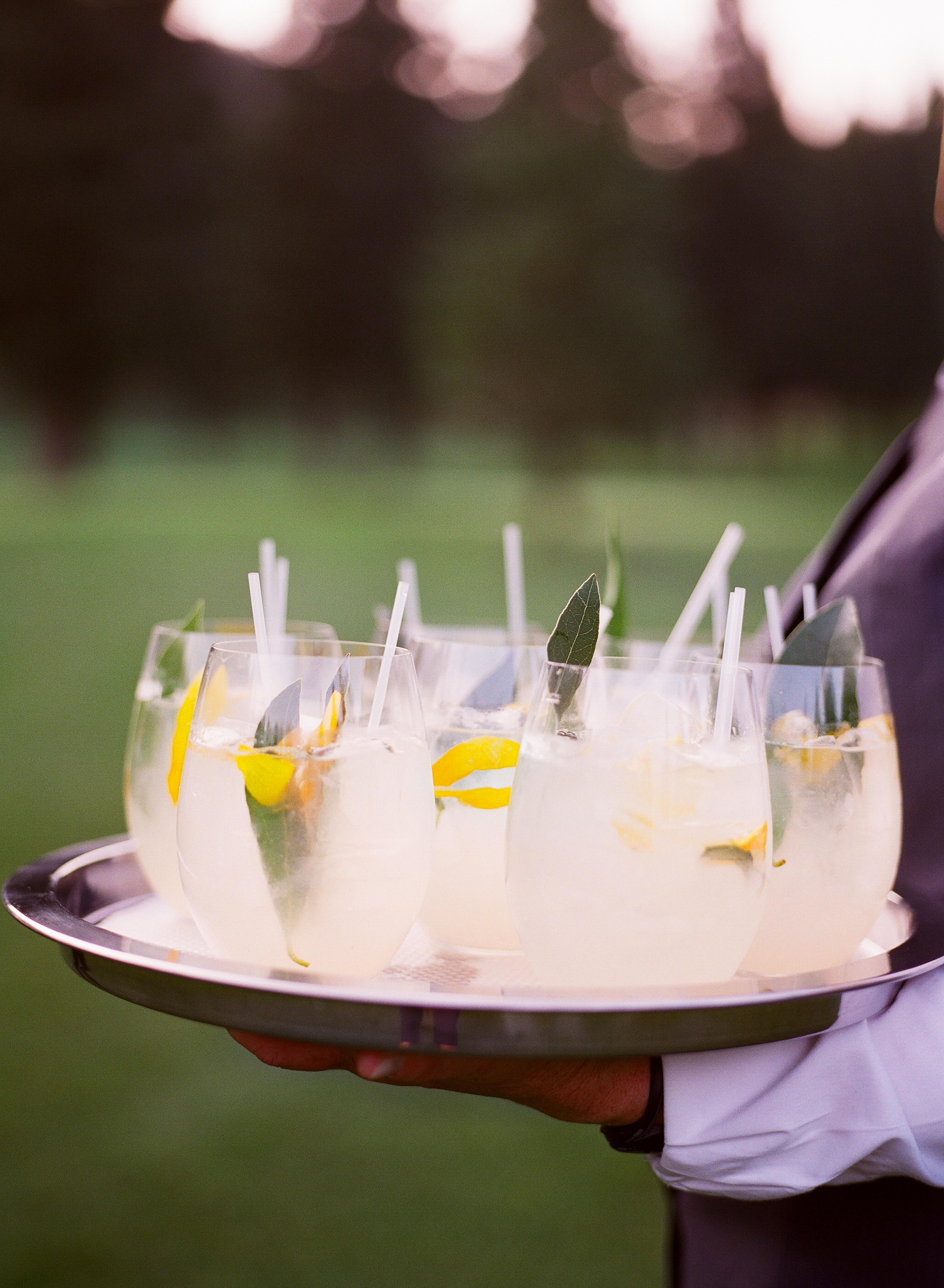caitlin michael wedding cocktails