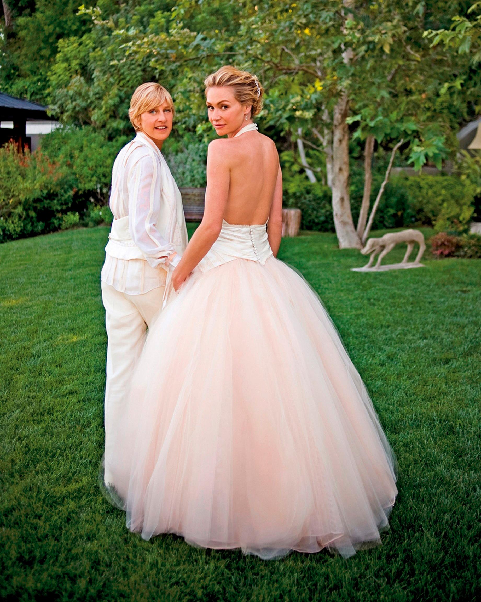 Ellen Degeneres Gave Fans A Closer Look At Her Wedding To Portia