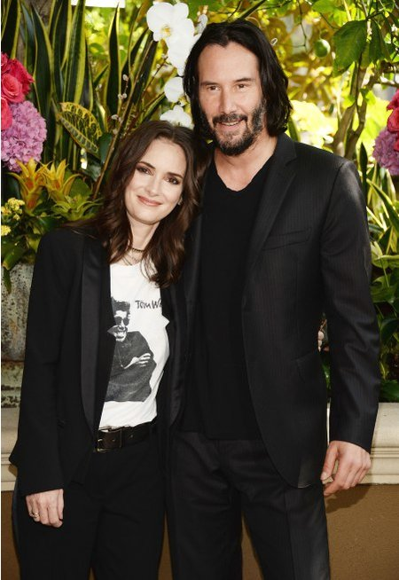 winona ryder and keanu reaves