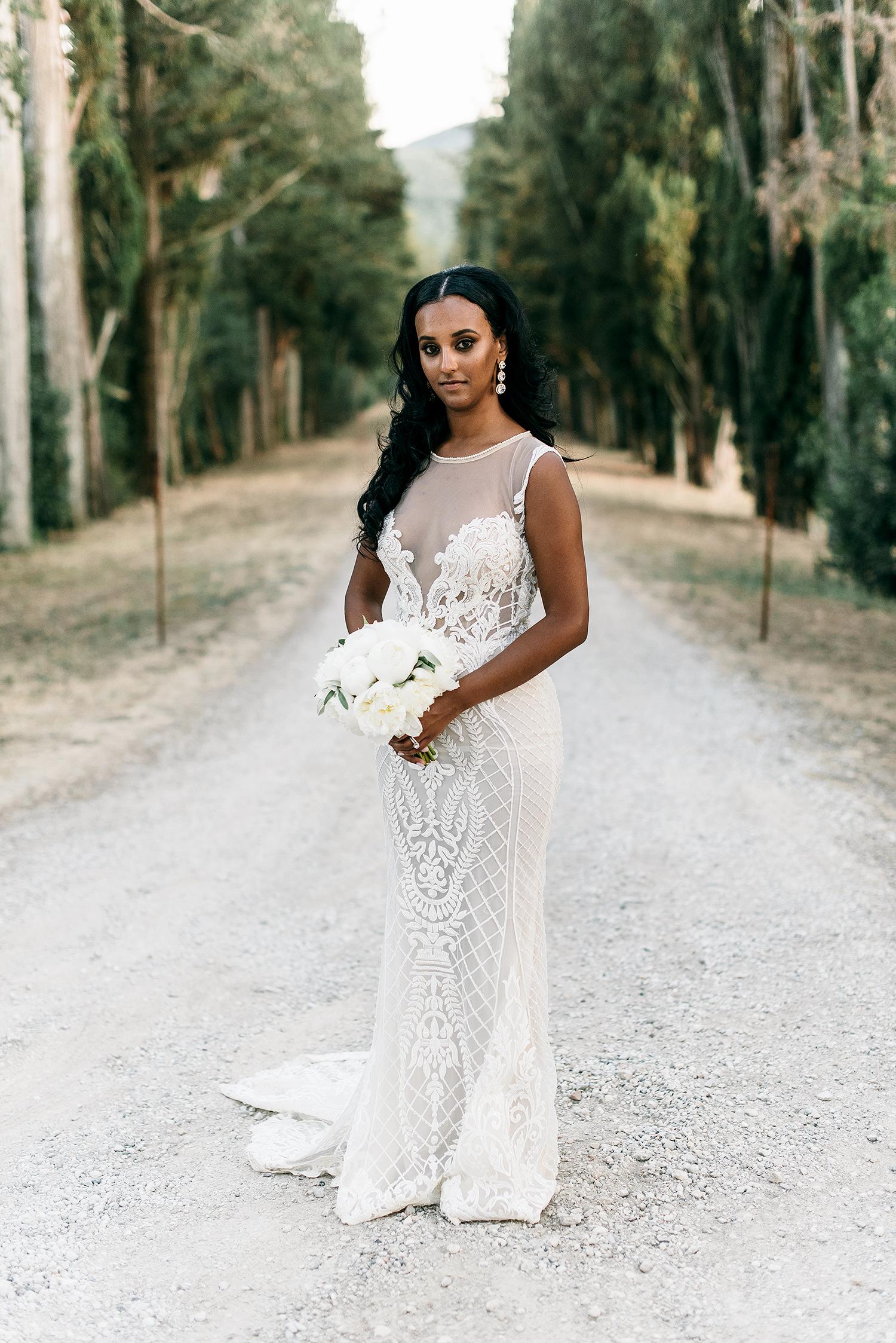 veronica mickias wedding bridal portrait