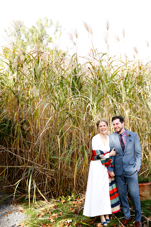 tory jonathan wedding couple in field