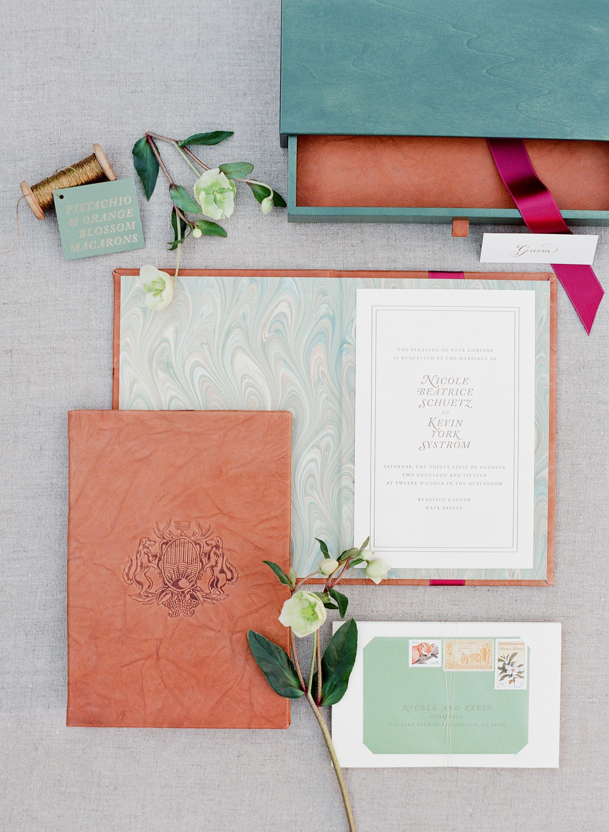 wedding invitation boxes jose villa