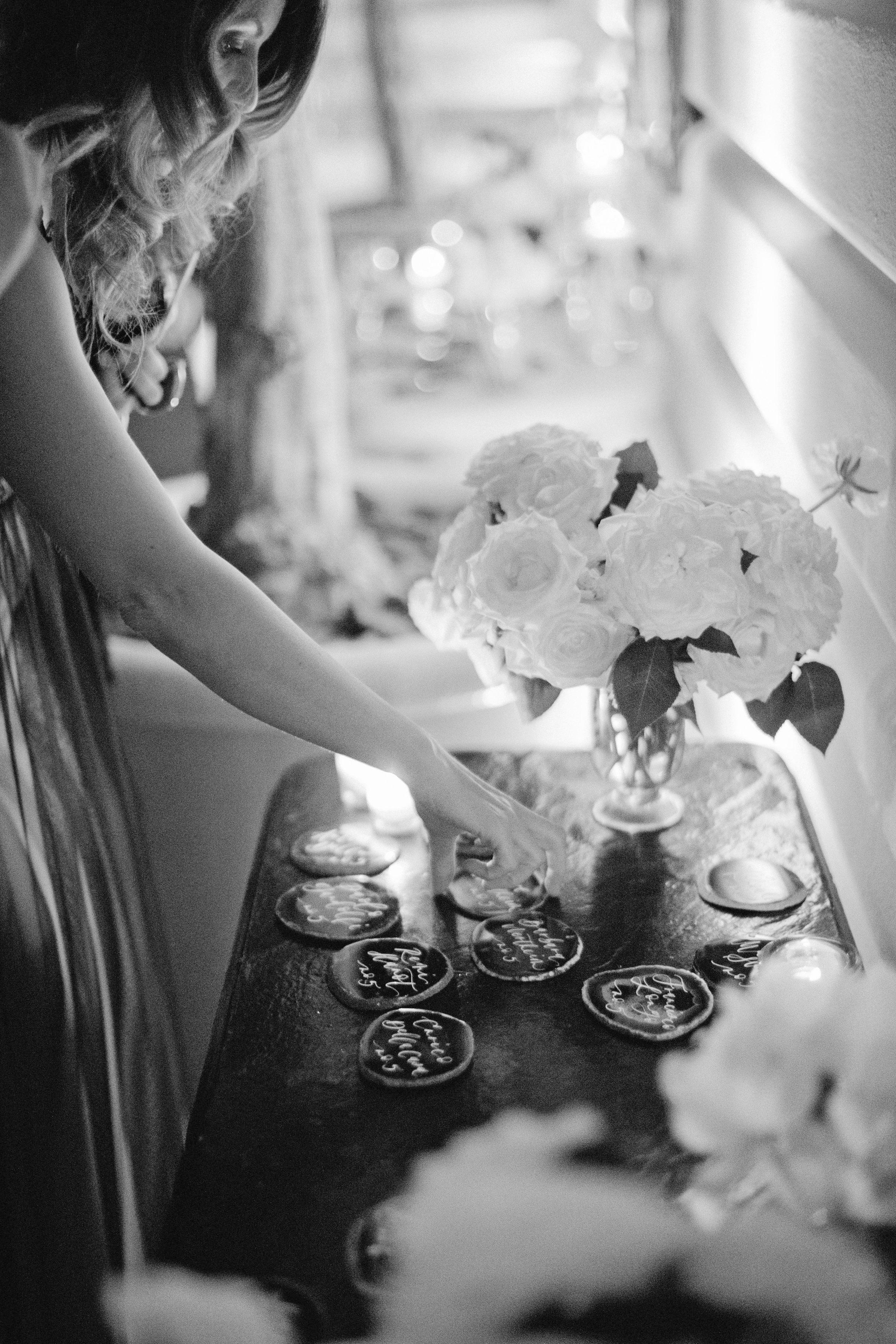 jiannina enzo wedding escortcards