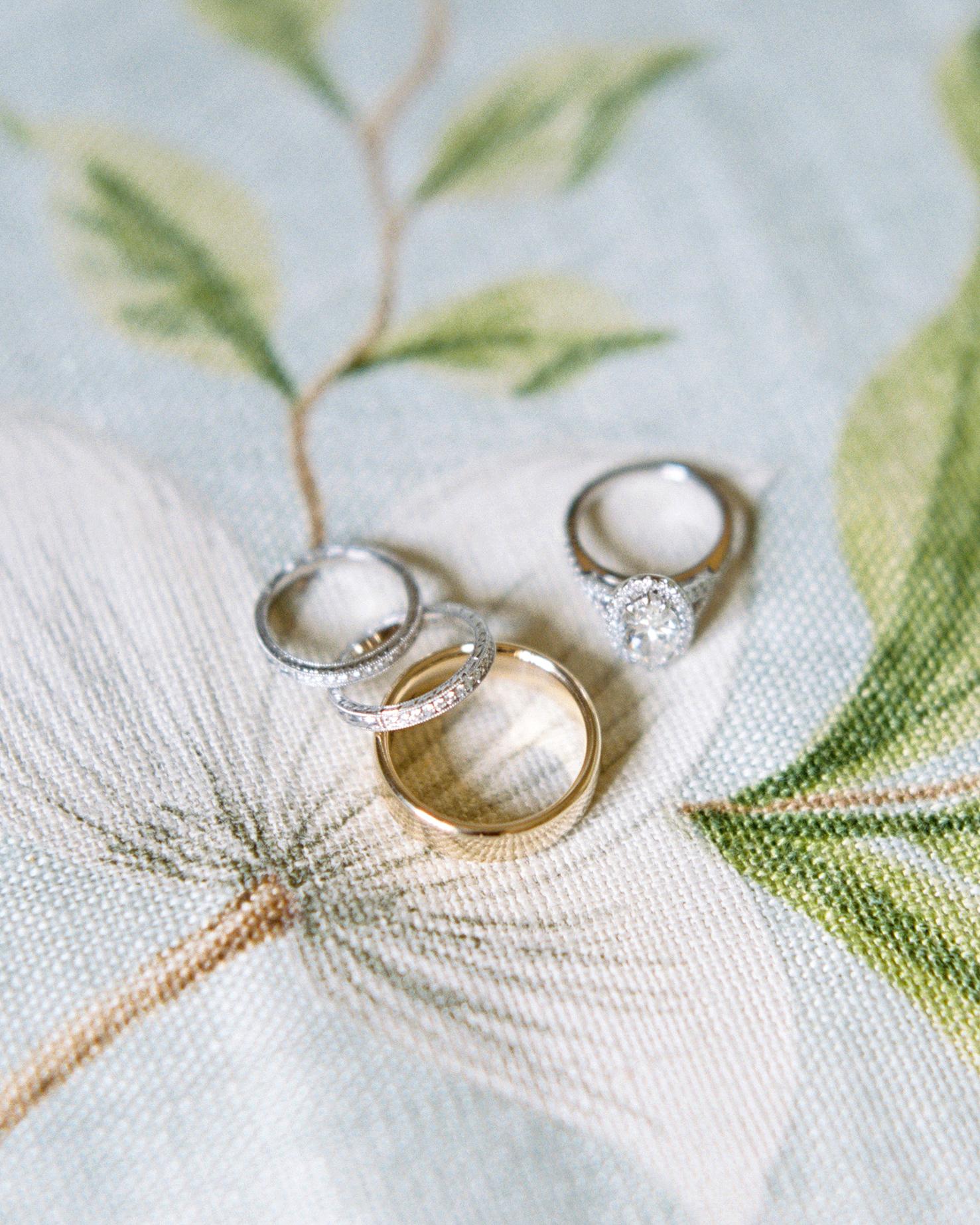 kate austin wedding rings bands diamond
