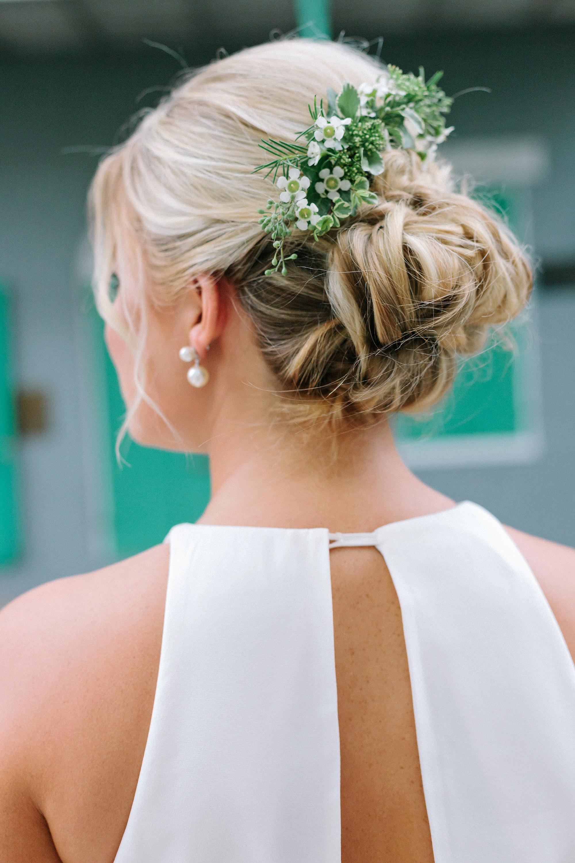 kate austin wedding flowercomb hair