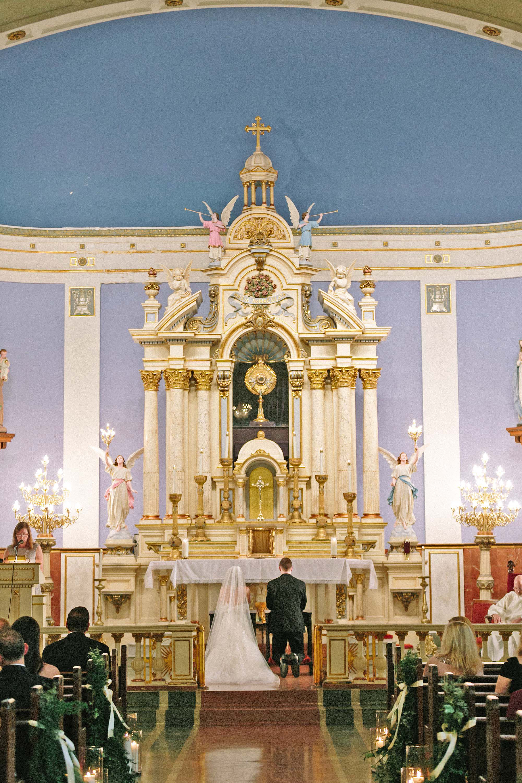kate austin wedding ceremony altar