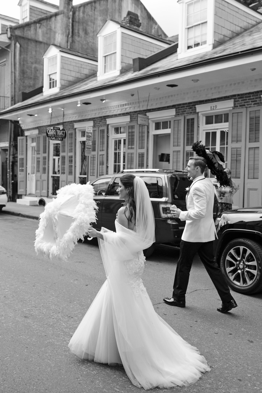 kate austin wedding secondline walk