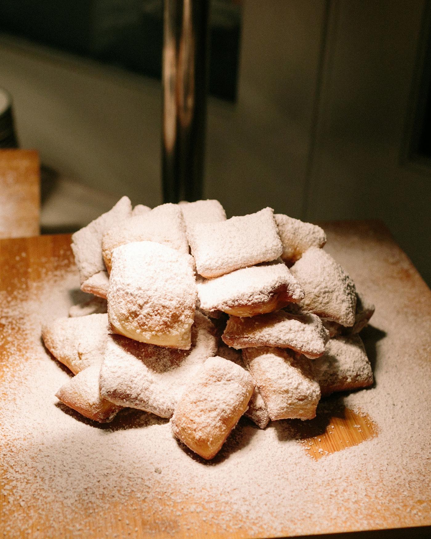 kate austin wedding beignets dessert pastry