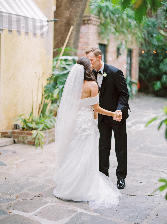 kate austin wedding firstlook kiss