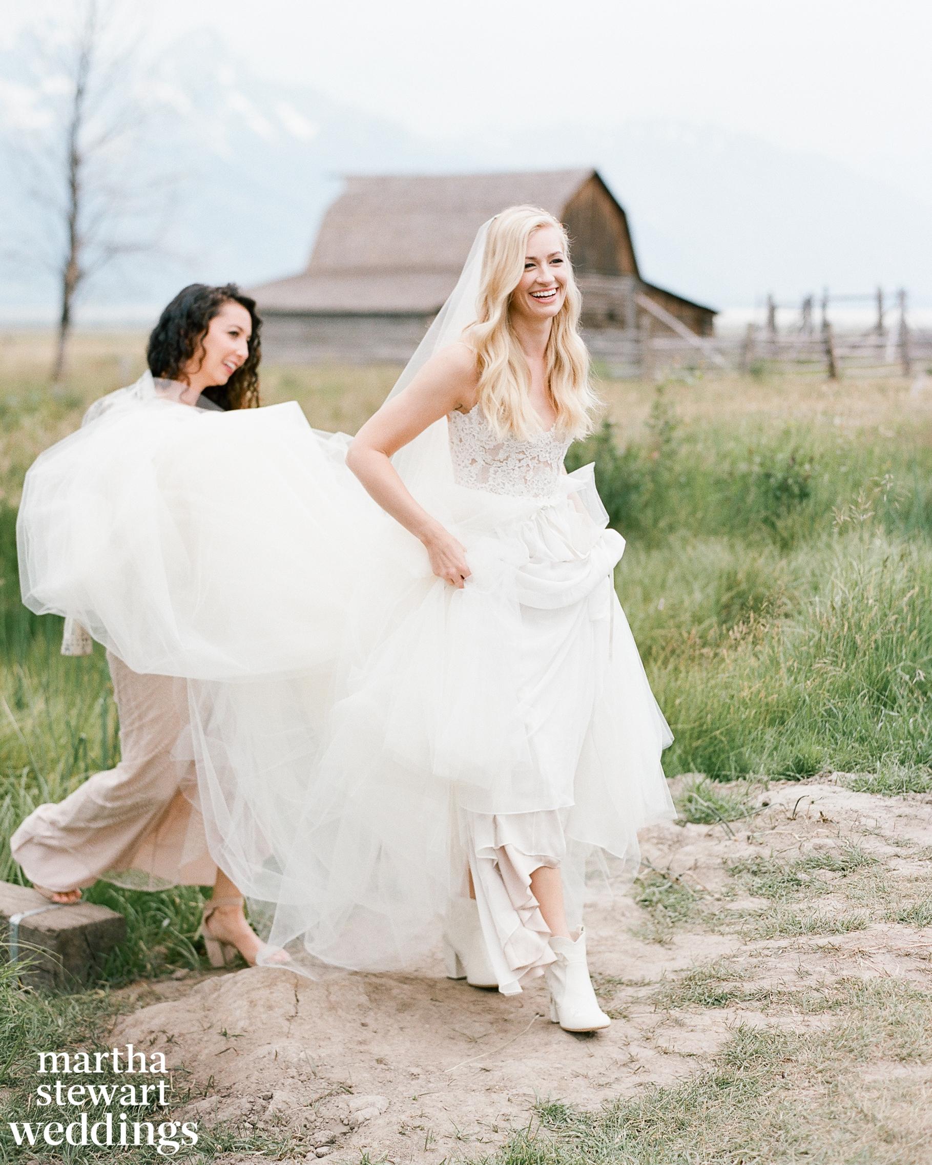 beth behrs michael gladis wedding bride boots sylvie gil