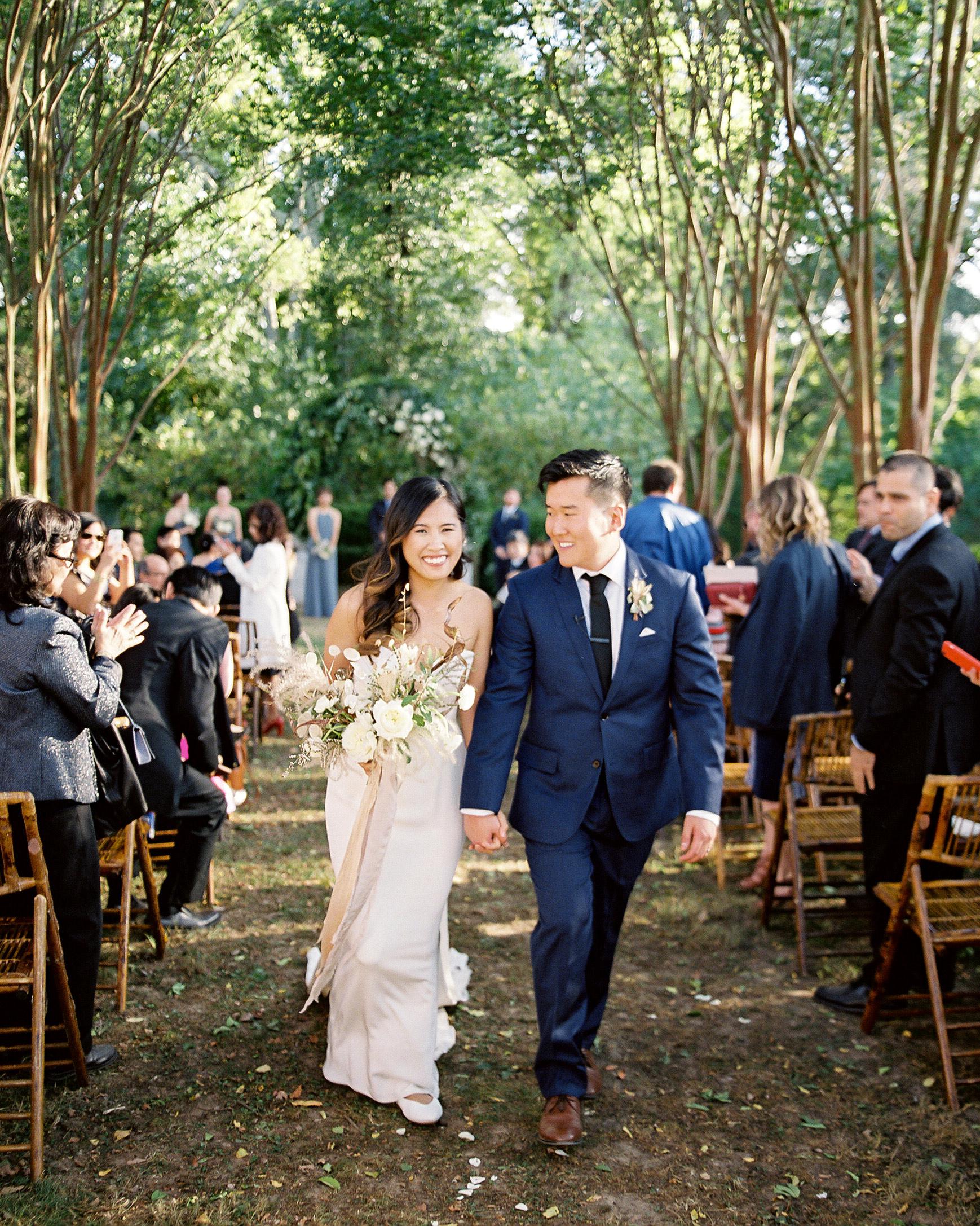 linda robert wedding ceremony recessional
