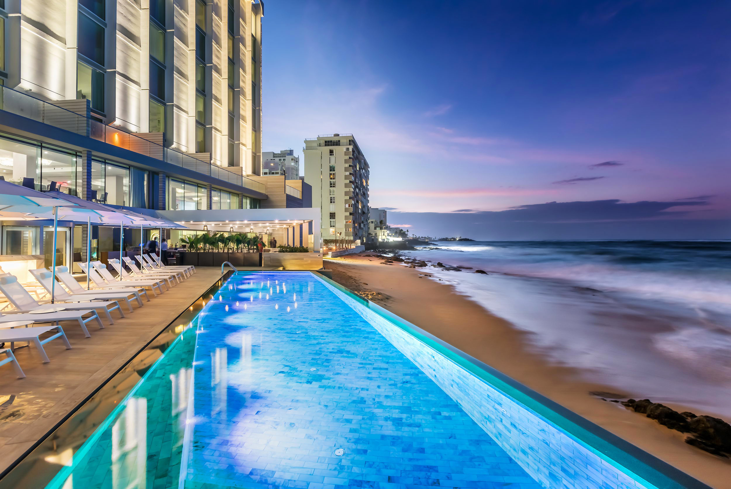 city meets beach hotel serafina beach pool sand