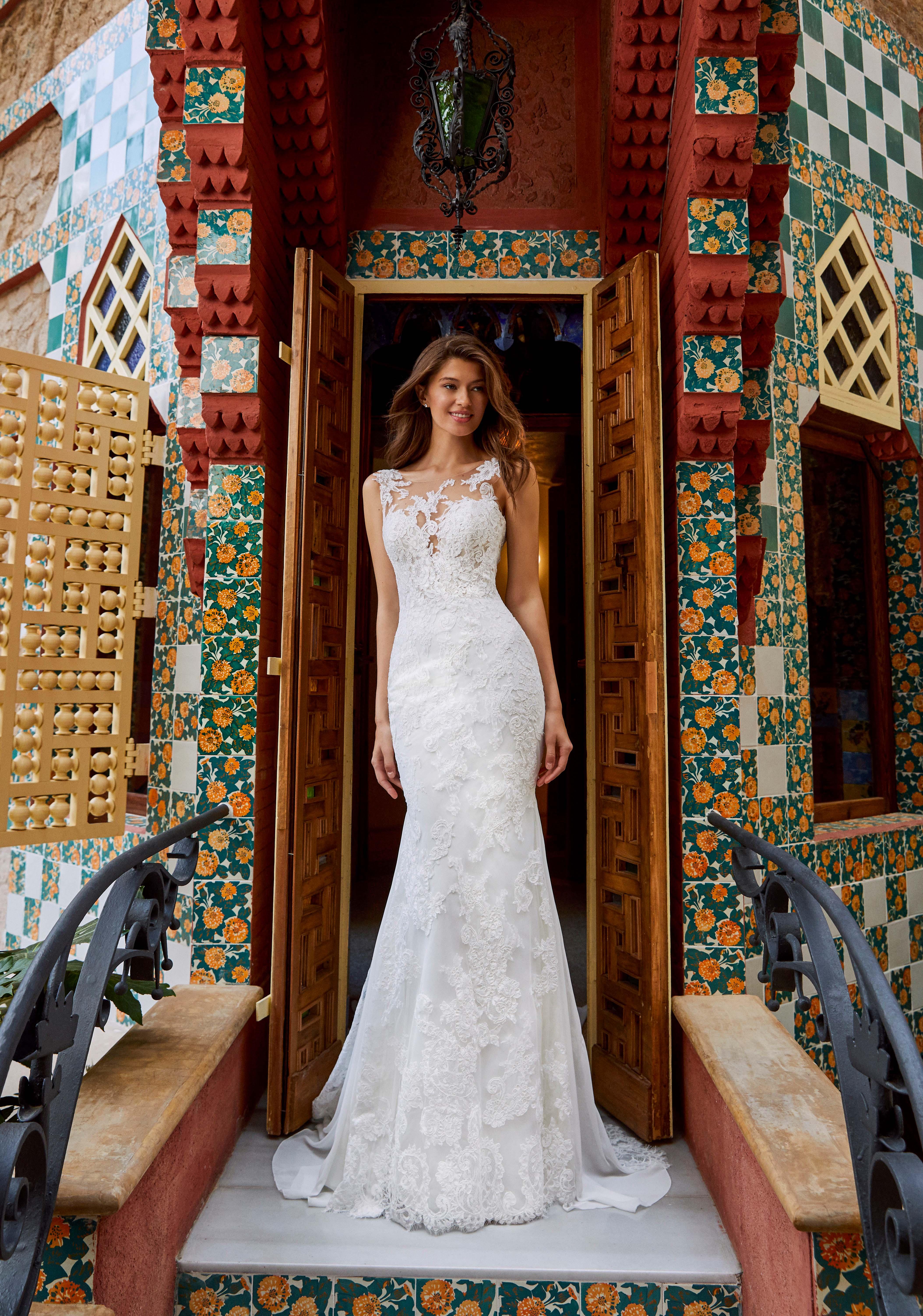 pronovias kleinfeld wedding dress fall 2019 05