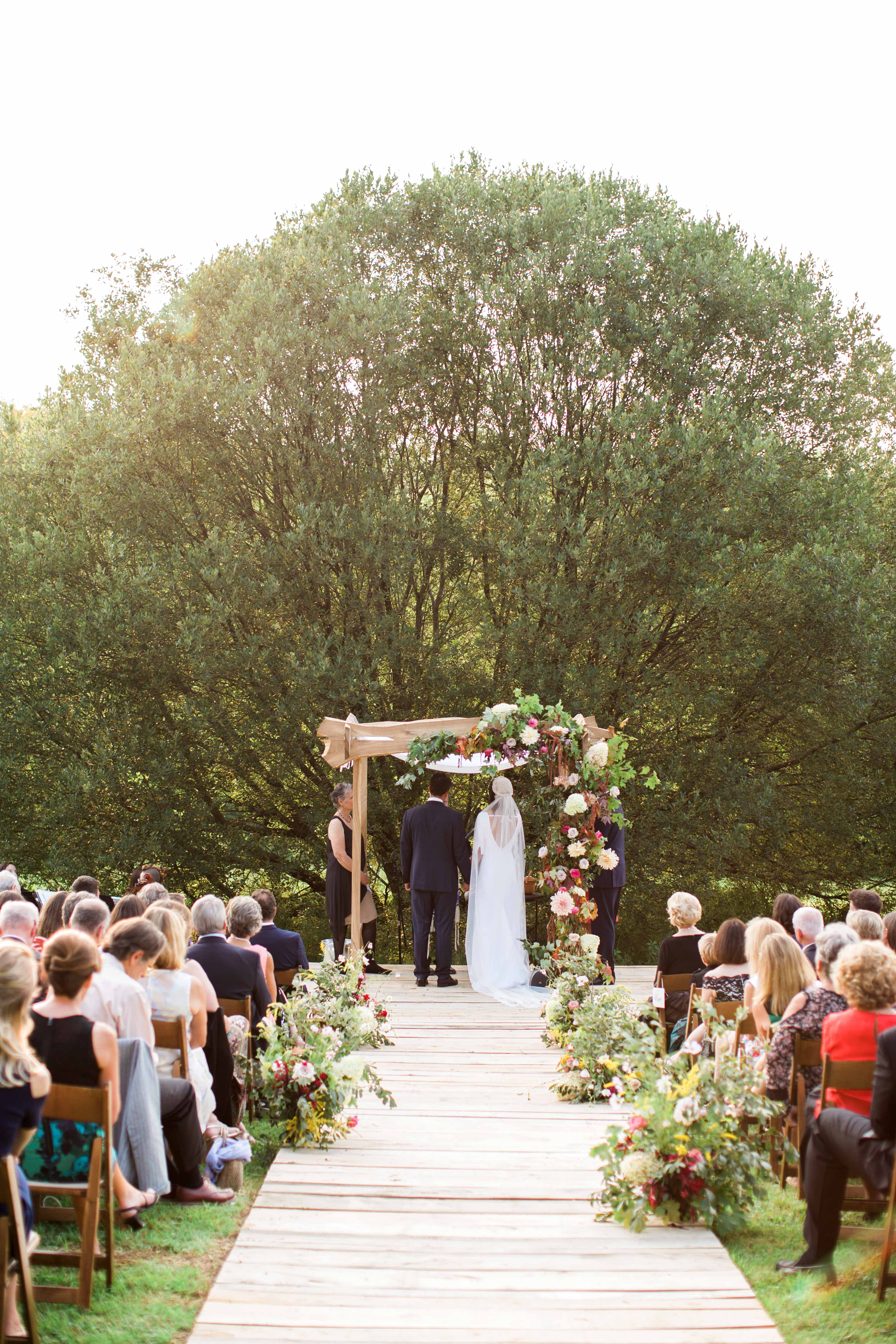 An Ultra Personal Wedding On The Groom S Family Farm In New York