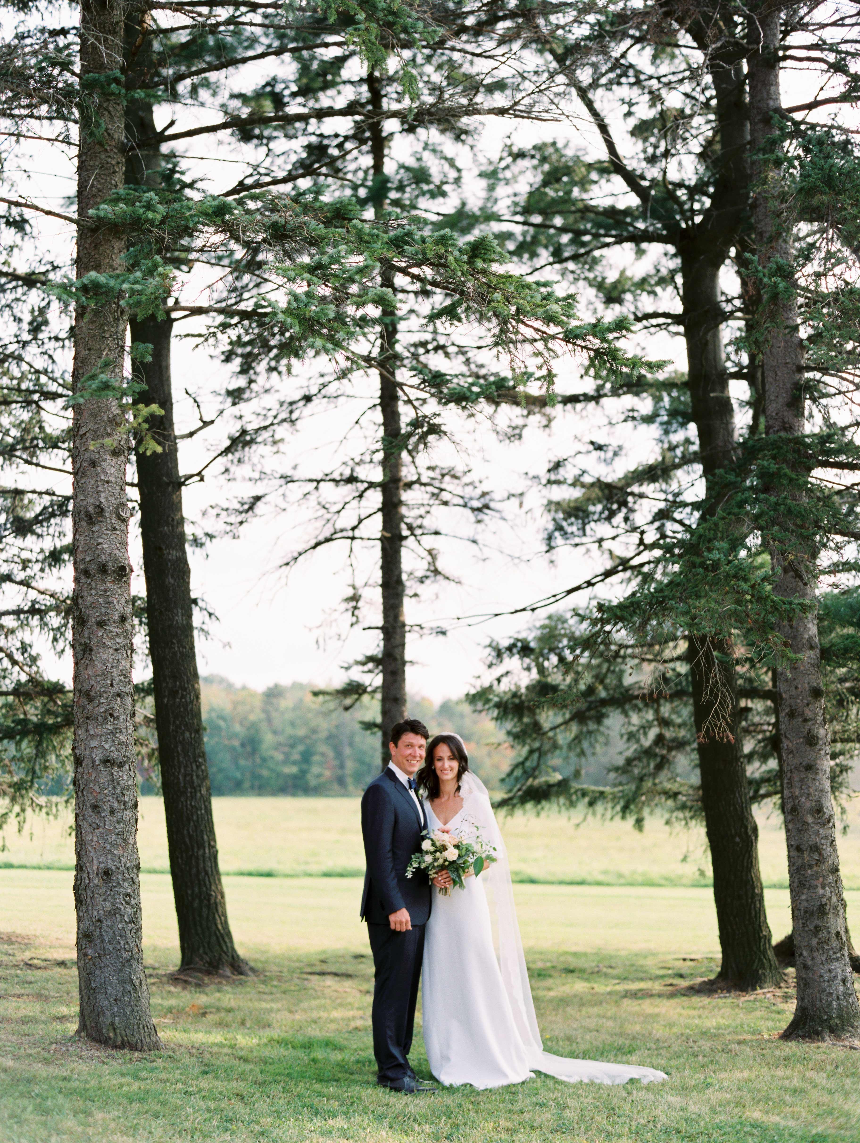 kayla michael wedding couple