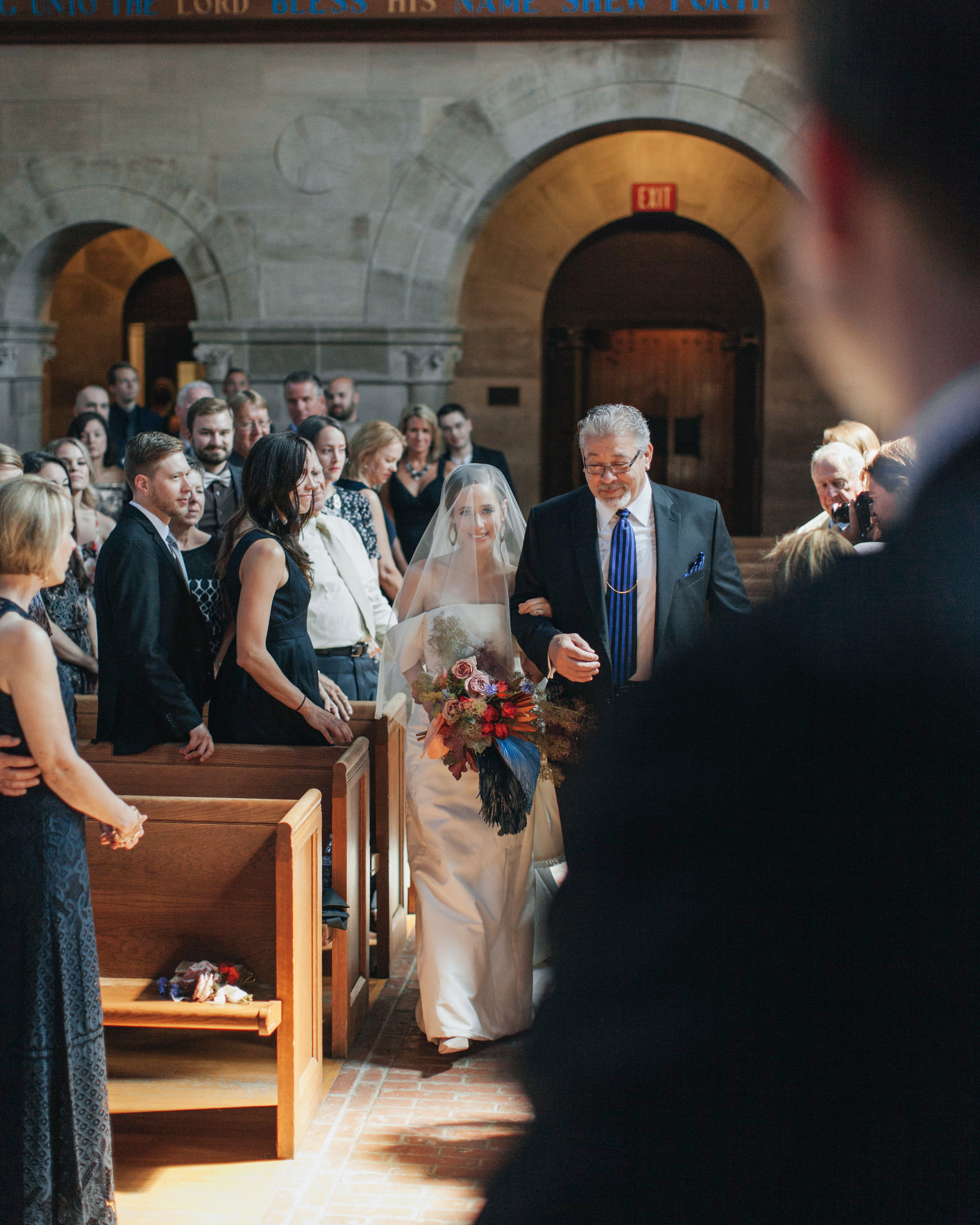 madison kyle wedding church processional