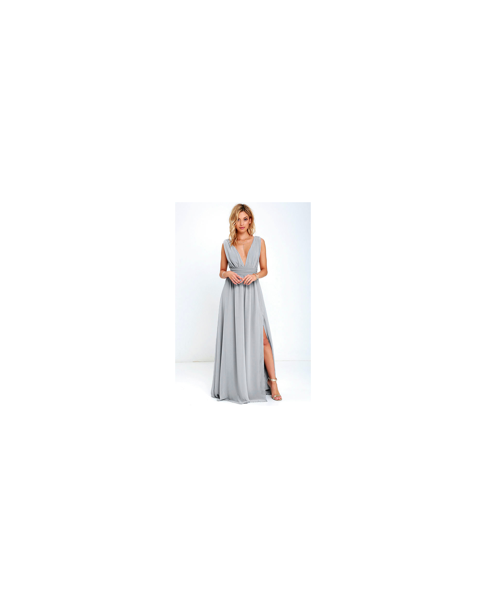 grey silver bridesmaid dresses lulus heavenly