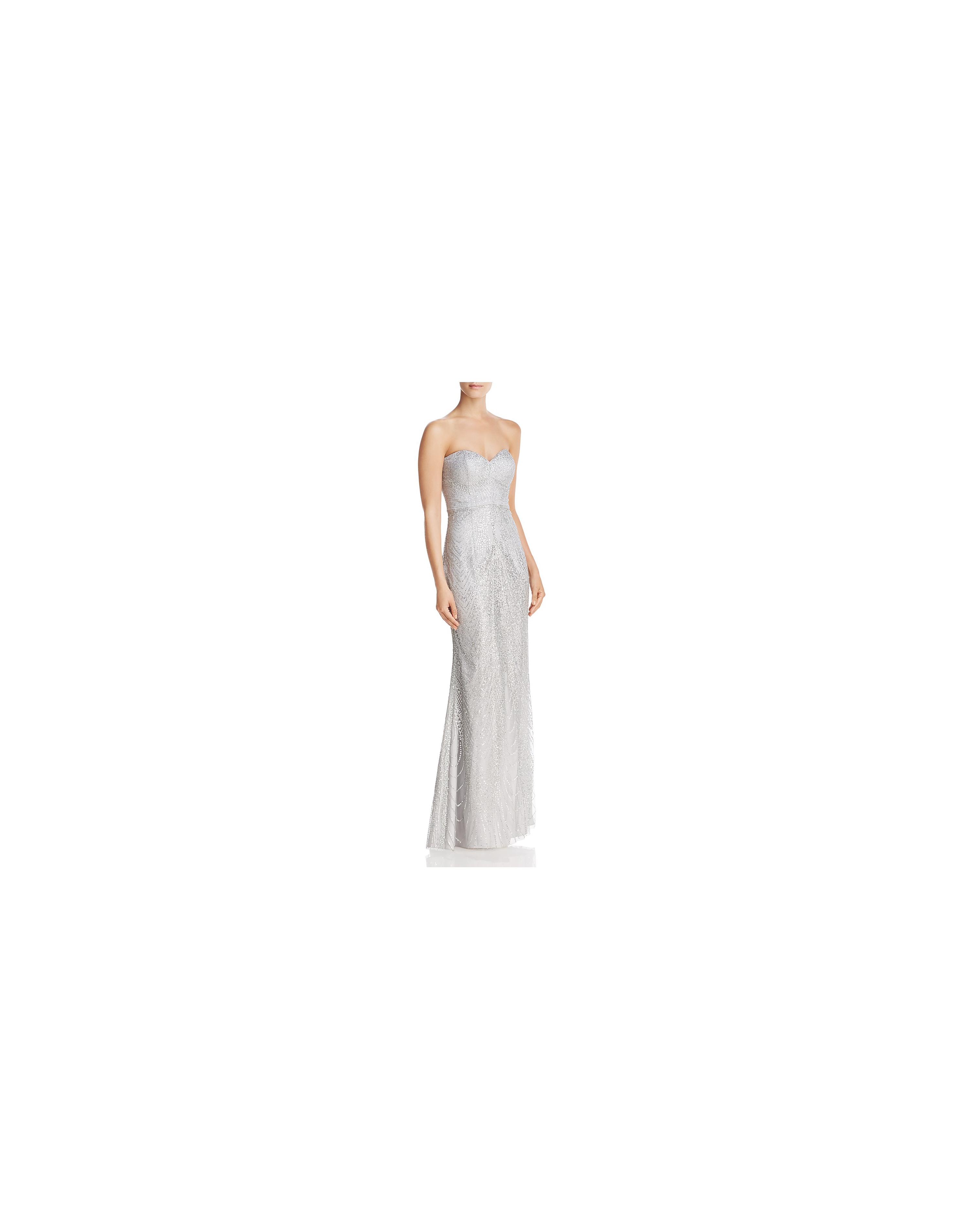 grey silver bridesmaid dresses bariano sequin