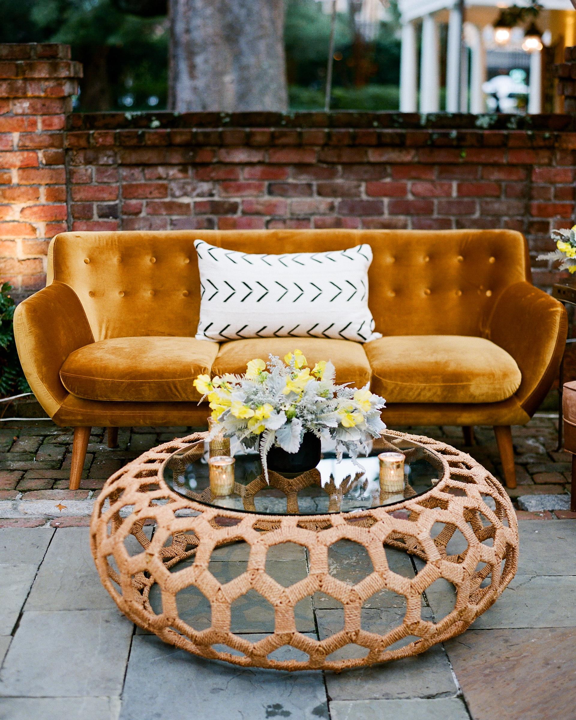 hamida charlie charleson wedding welcome party lounge