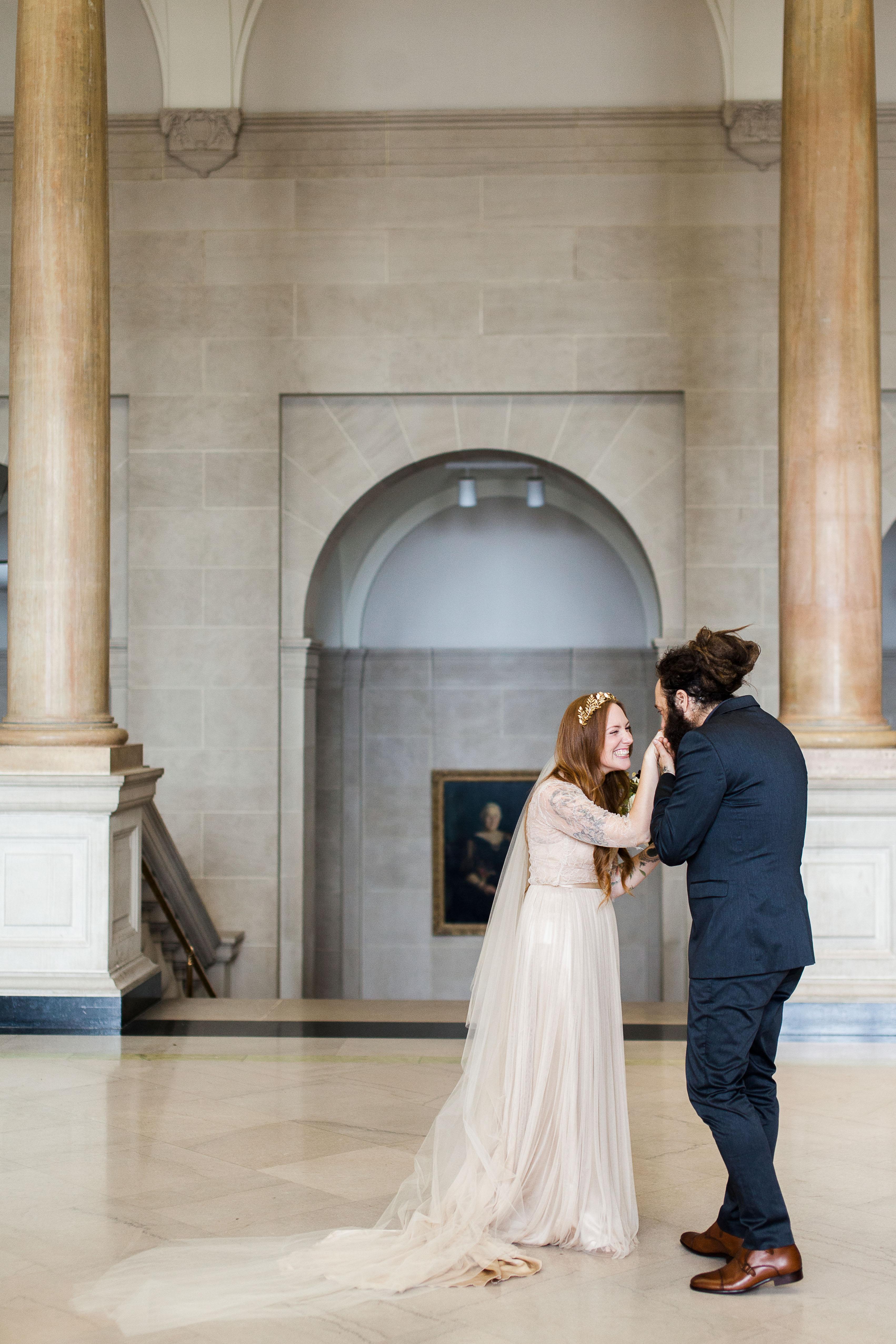 katie matthew ohio wedding first look