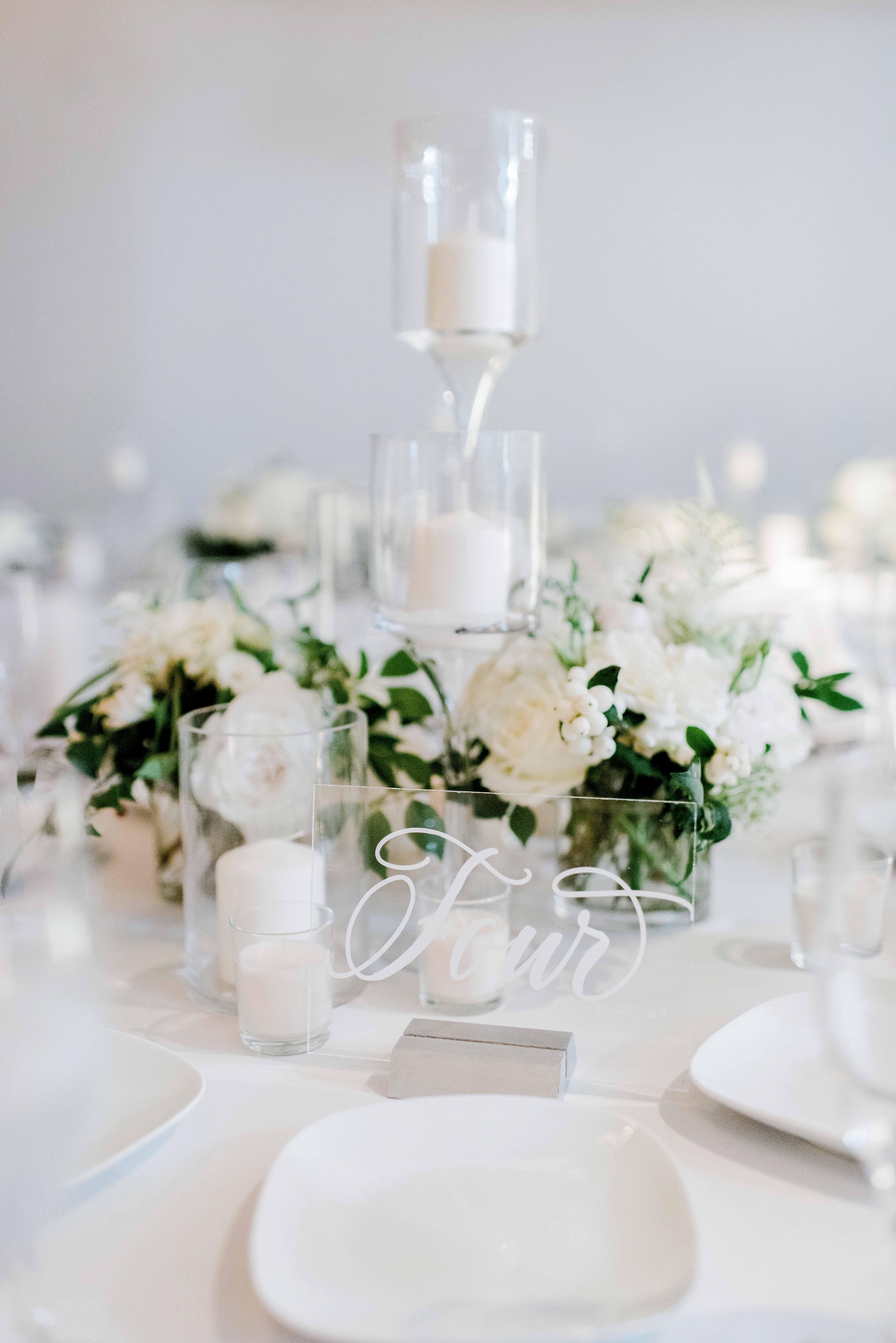 winter wedding centerpieces rachel pearlman photography