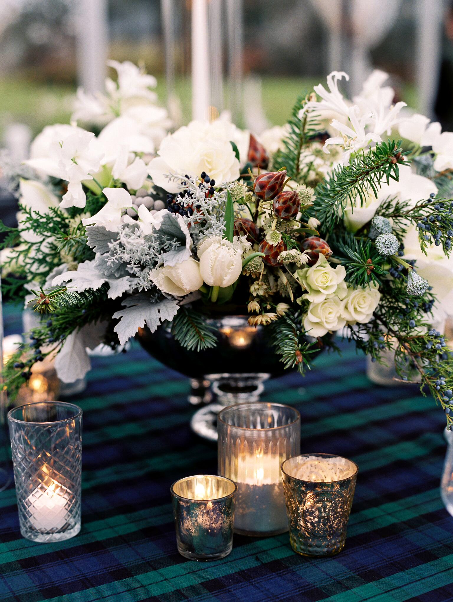 Winter Wedding Centerpieces That Nod To The Season Martha