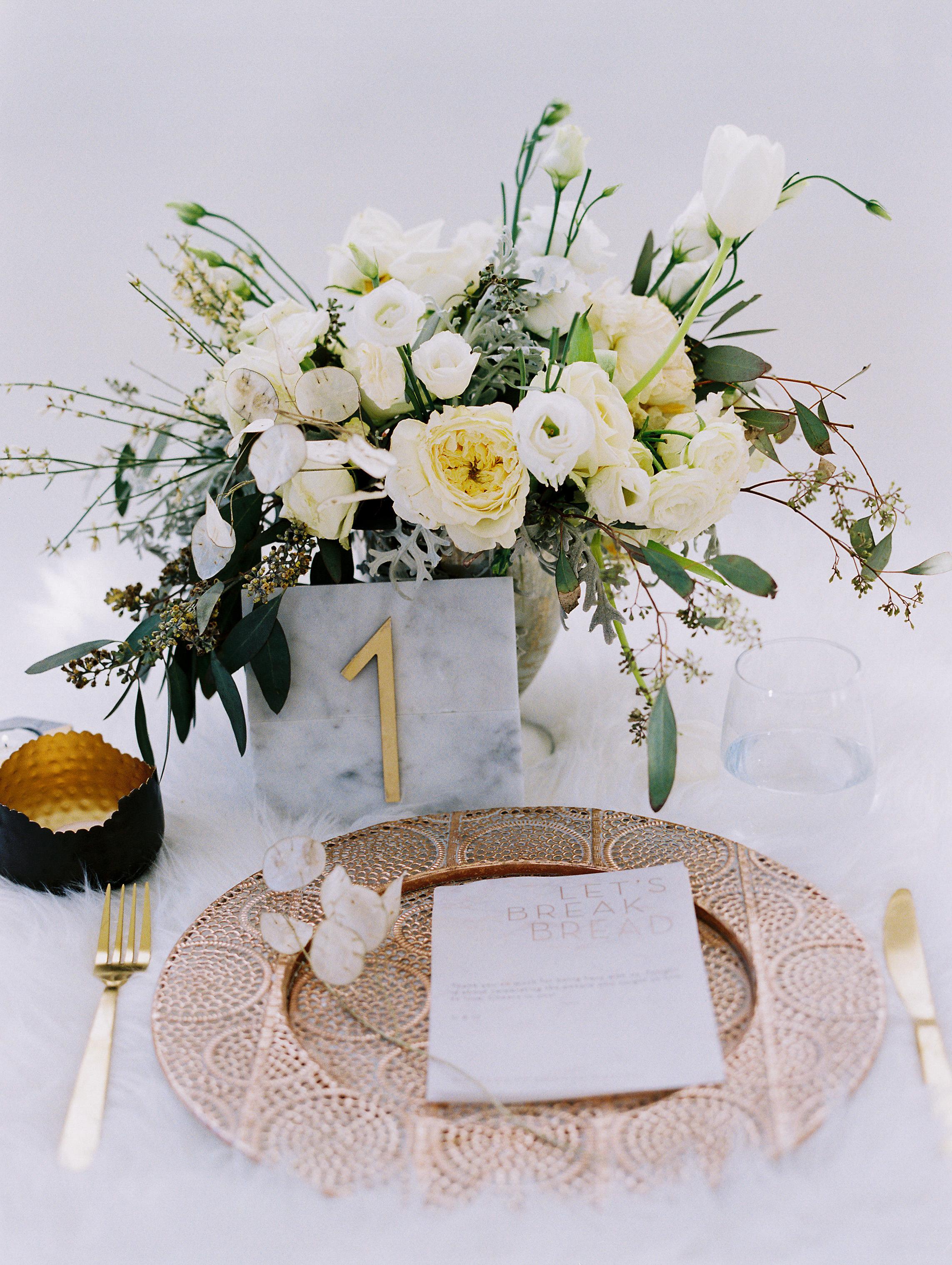 winter wedding centerpieces natalie bray