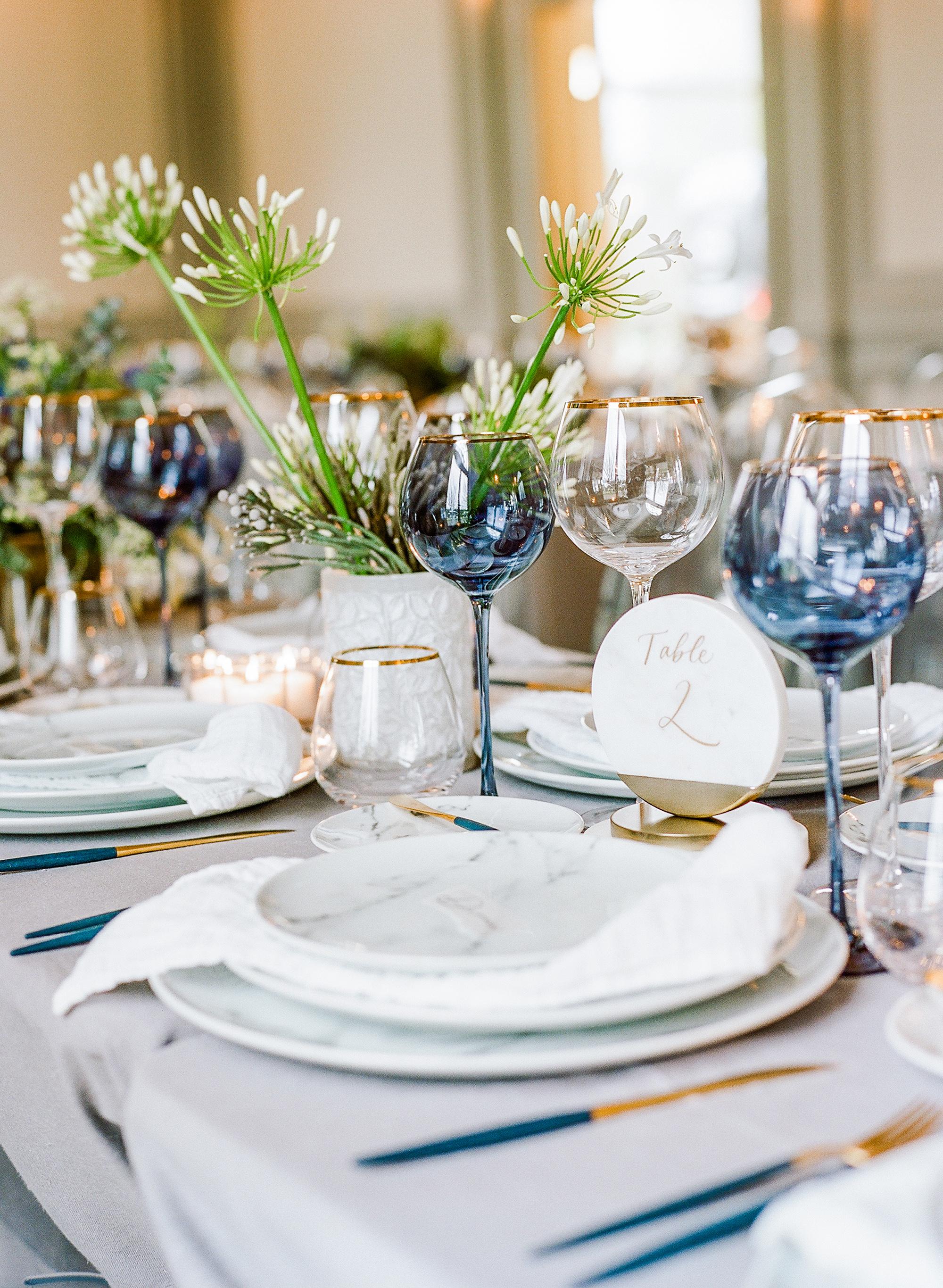 michelle robert wedding table number